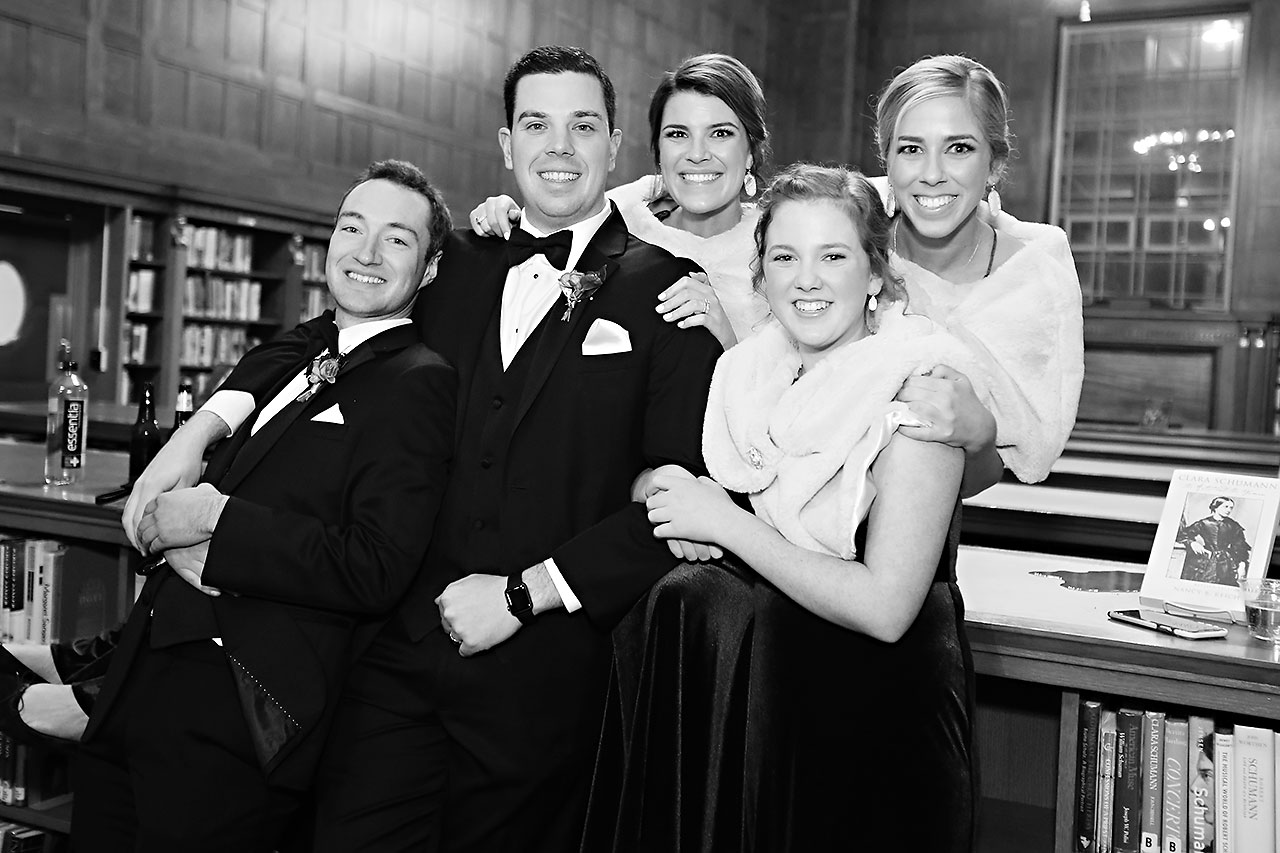 Marianne Steven Indianapolis Central Library Wedding 221