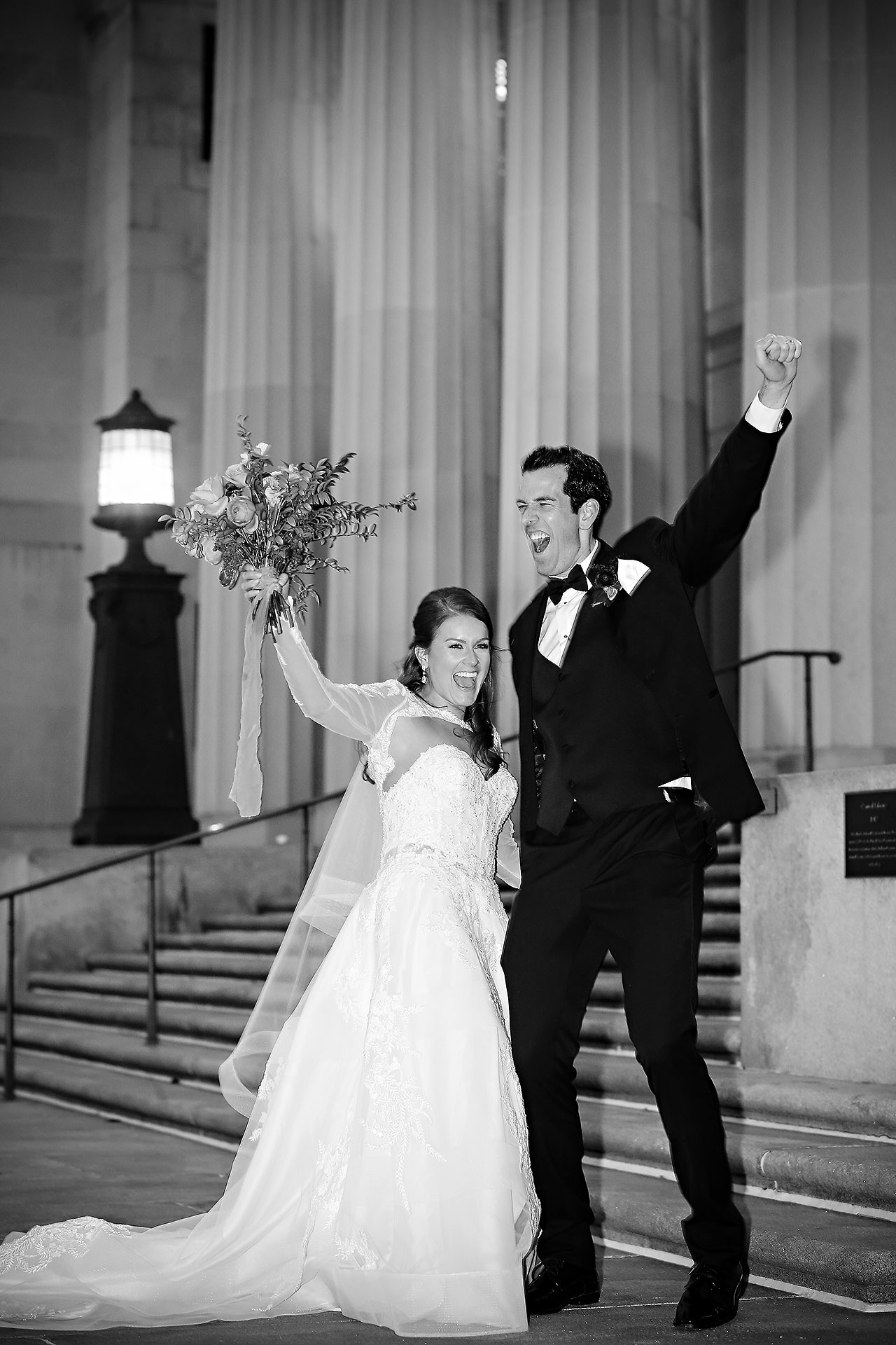 Marianne Steven Indianapolis Central Library Wedding 214