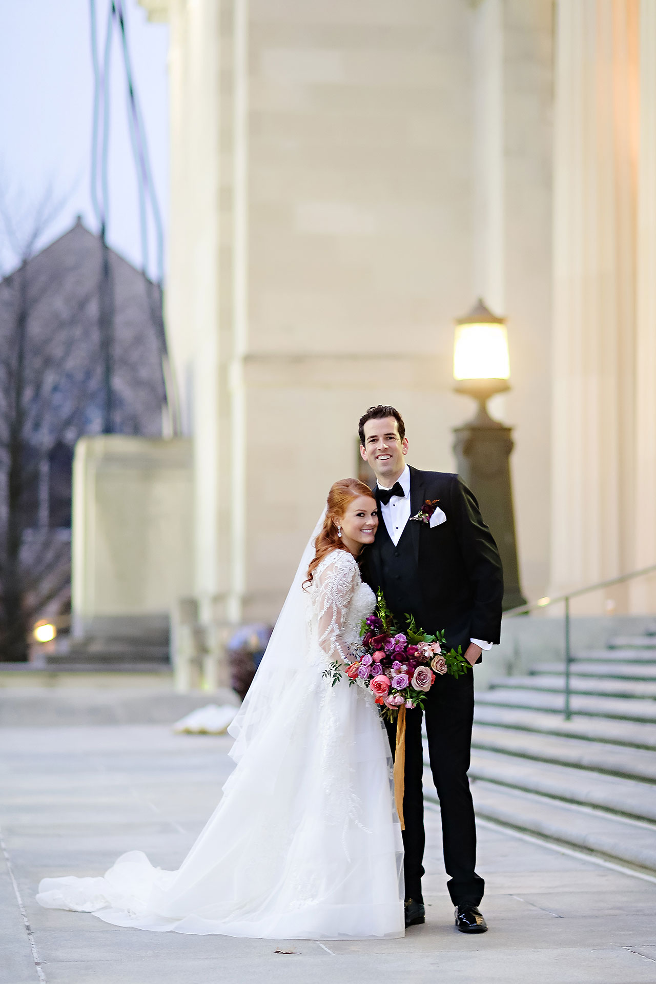 Marianne Steven Indianapolis Central Library Wedding 213