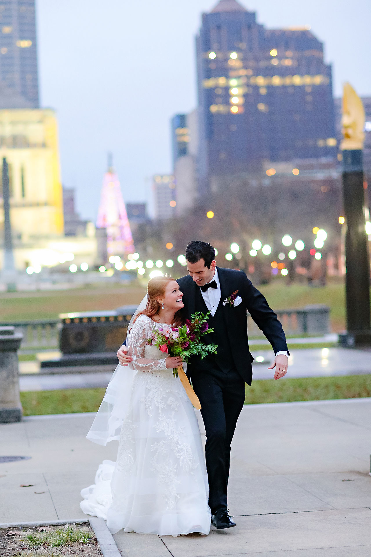 Marianne Steven Indianapolis Central Library Wedding 210