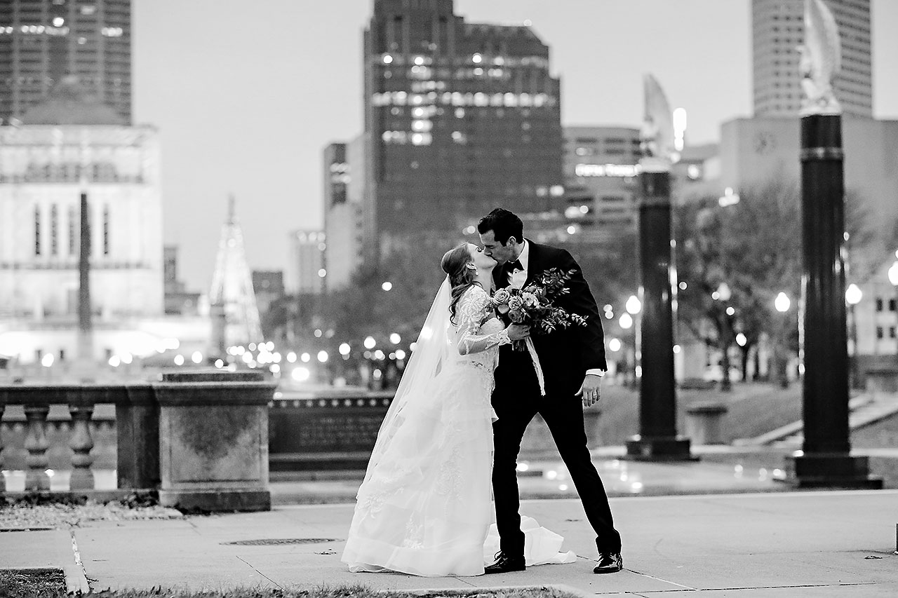 Marianne Steven Indianapolis Central Library Wedding 206