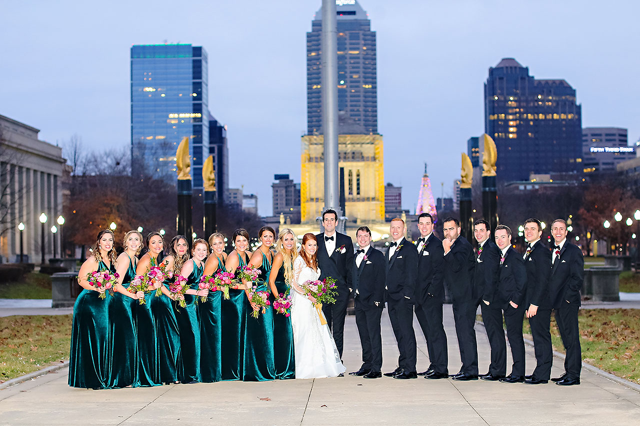 Marianne Steven Indianapolis Central Library Wedding 205