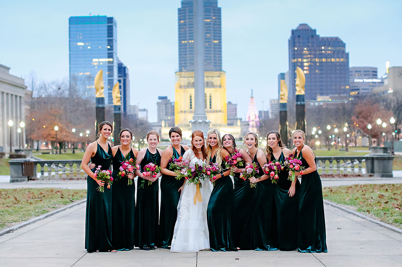 Marianne Steven Indianapolis Central Library Wedding 202