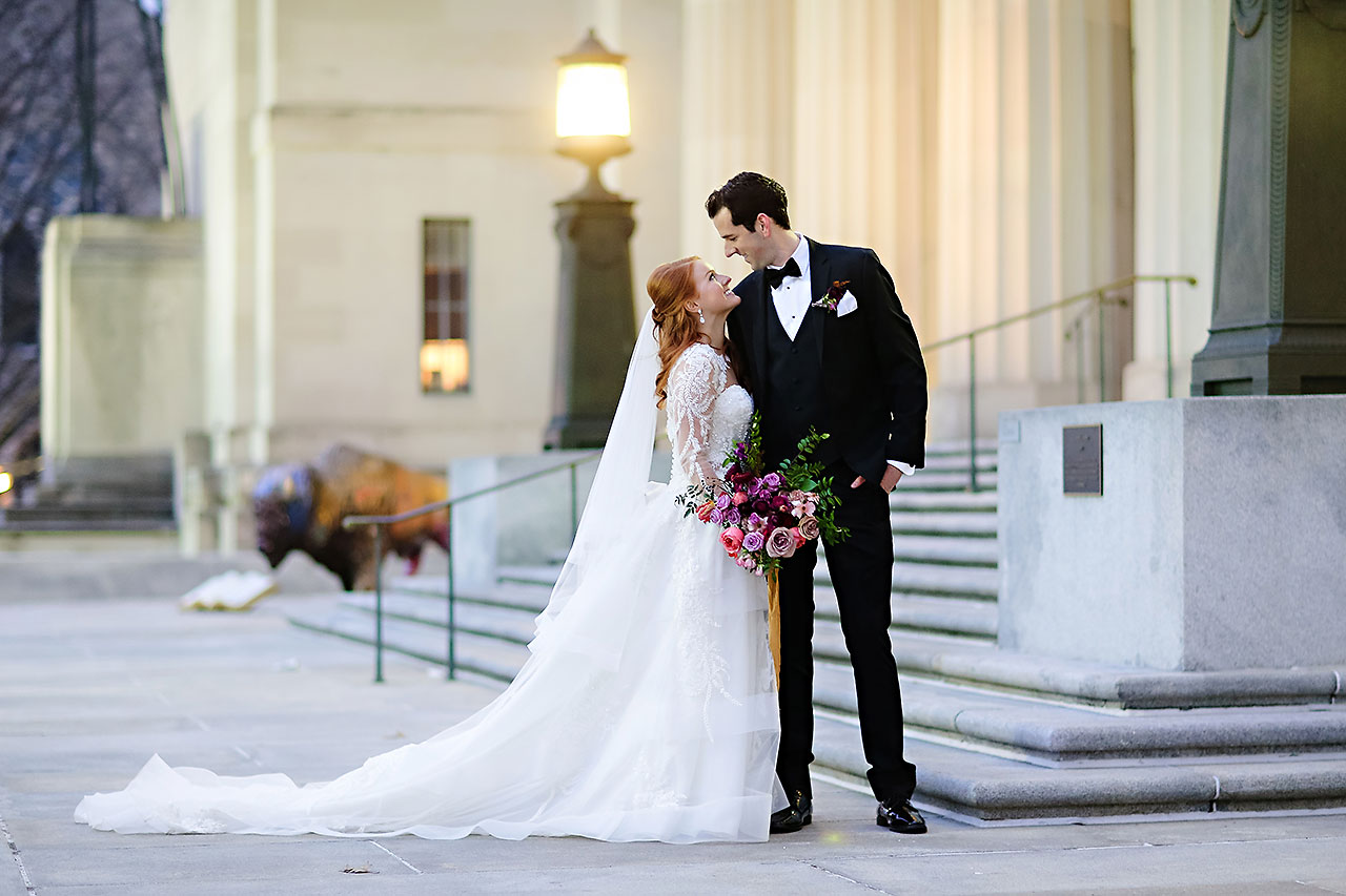 Marianne Steven Indianapolis Central Library Wedding 199