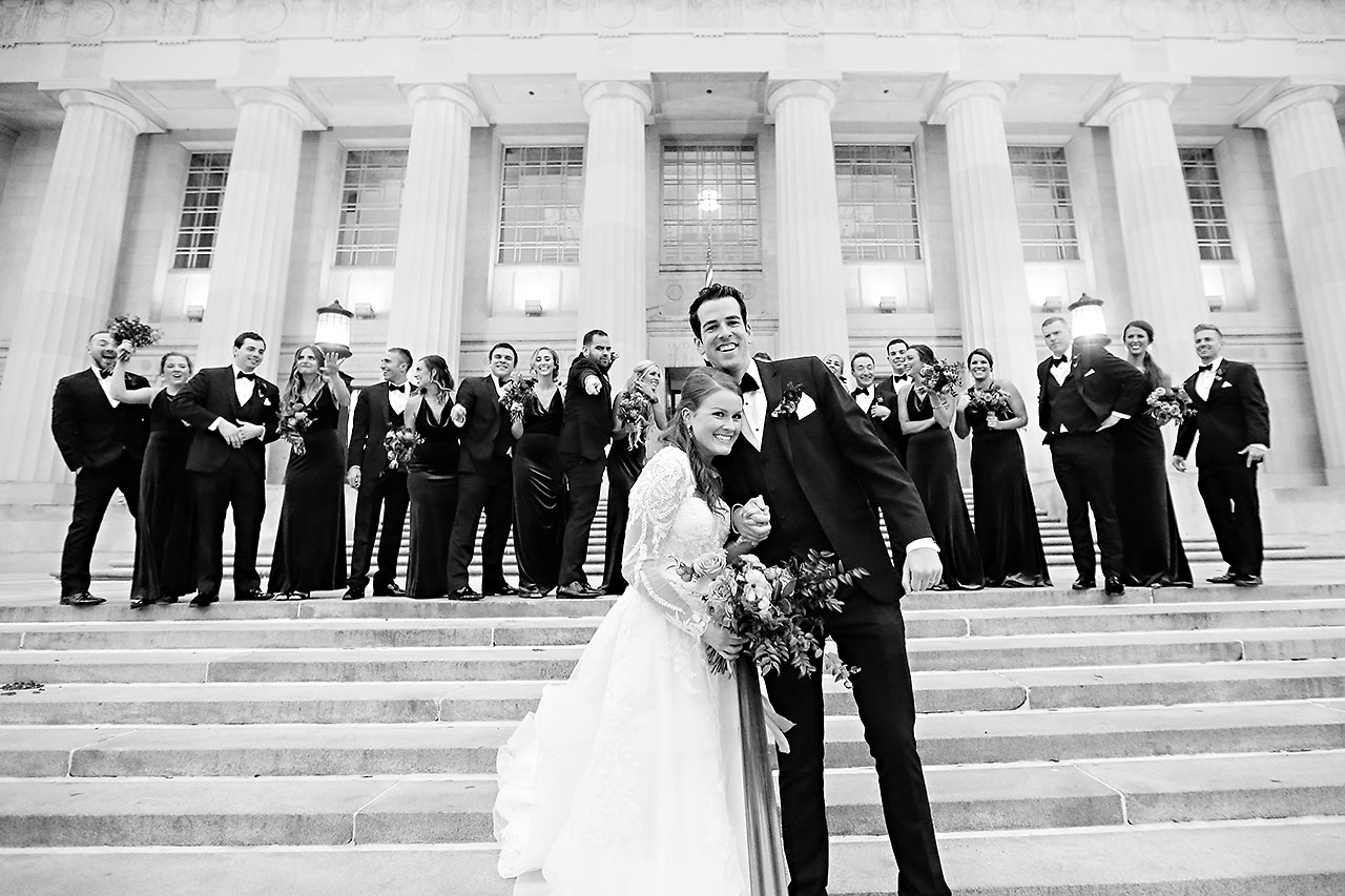 Marianne Steven Indianapolis Central Library Wedding 196