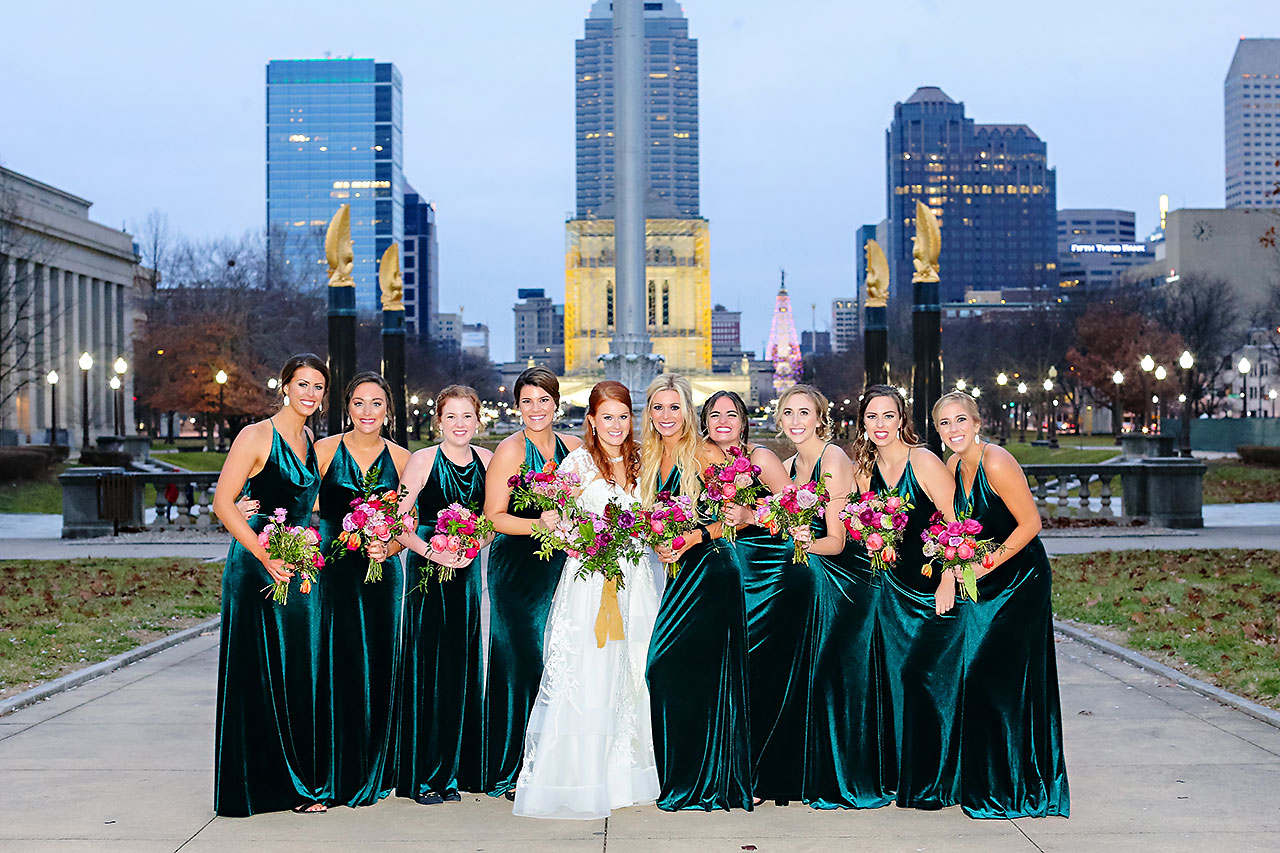 Marianne Steven Indianapolis Central Library Wedding 197