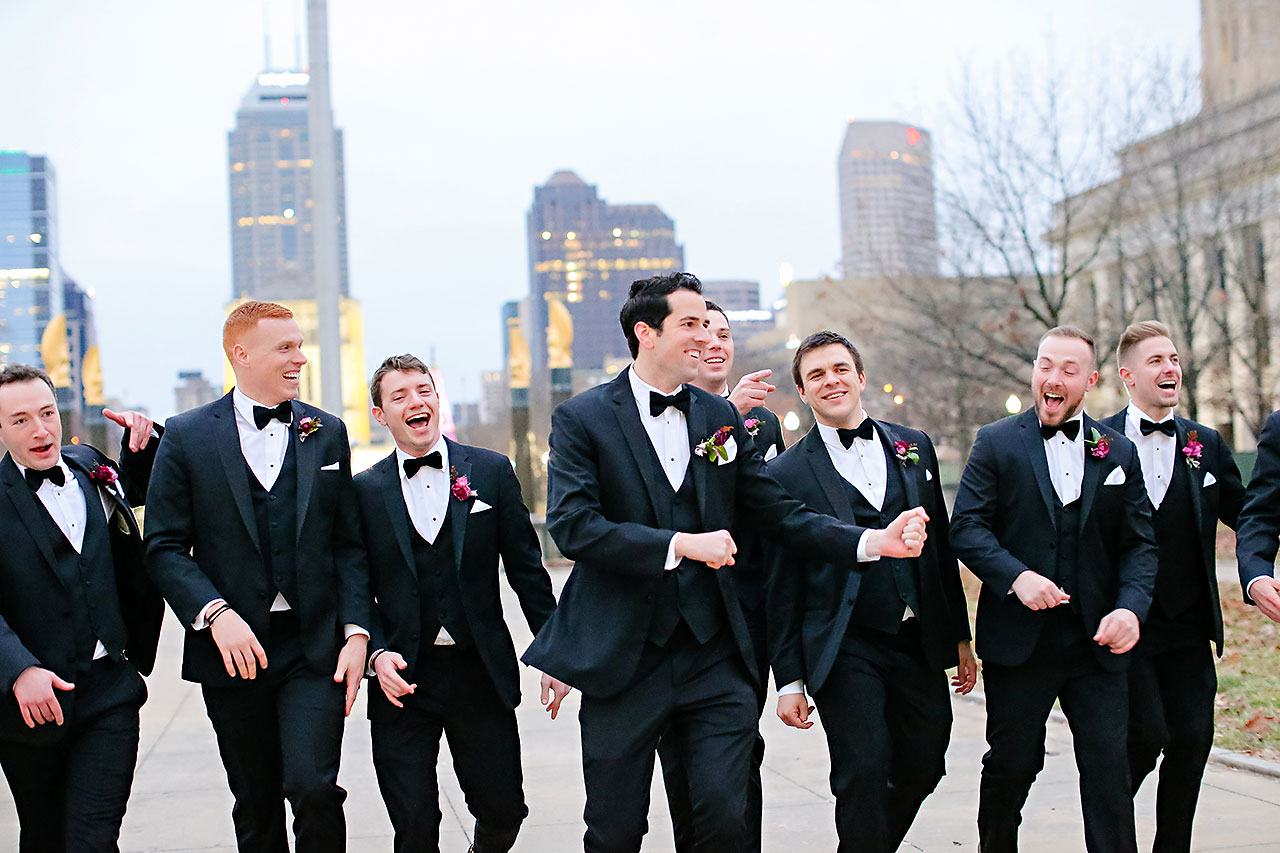 Marianne Steven Indianapolis Central Library Wedding 198