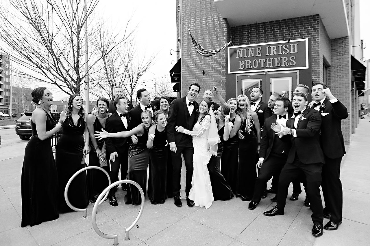 Marianne Steven Indianapolis Central Library Wedding 193