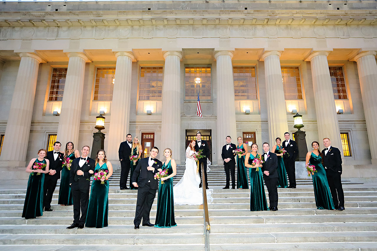 Marianne Steven Indianapolis Central Library Wedding 194