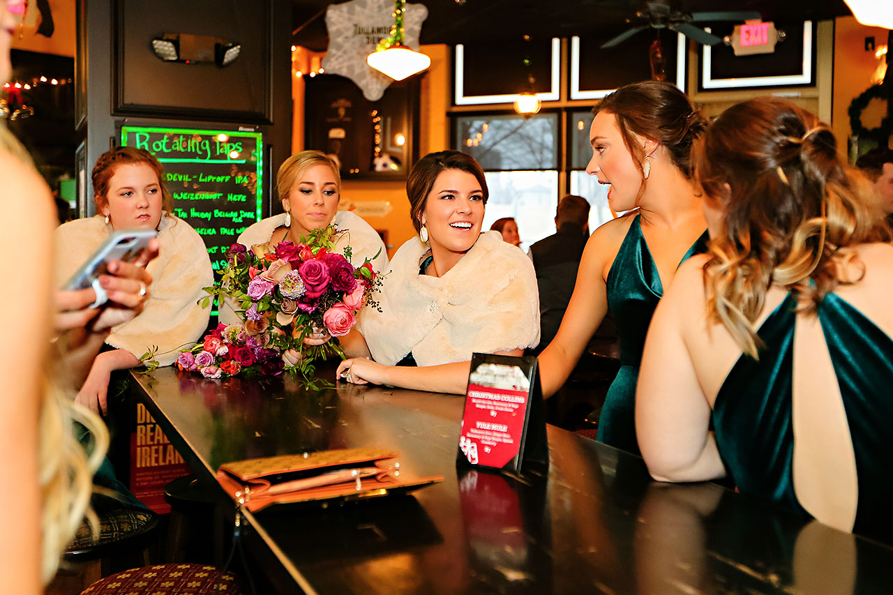 Marianne Steven Indianapolis Central Library Wedding 190