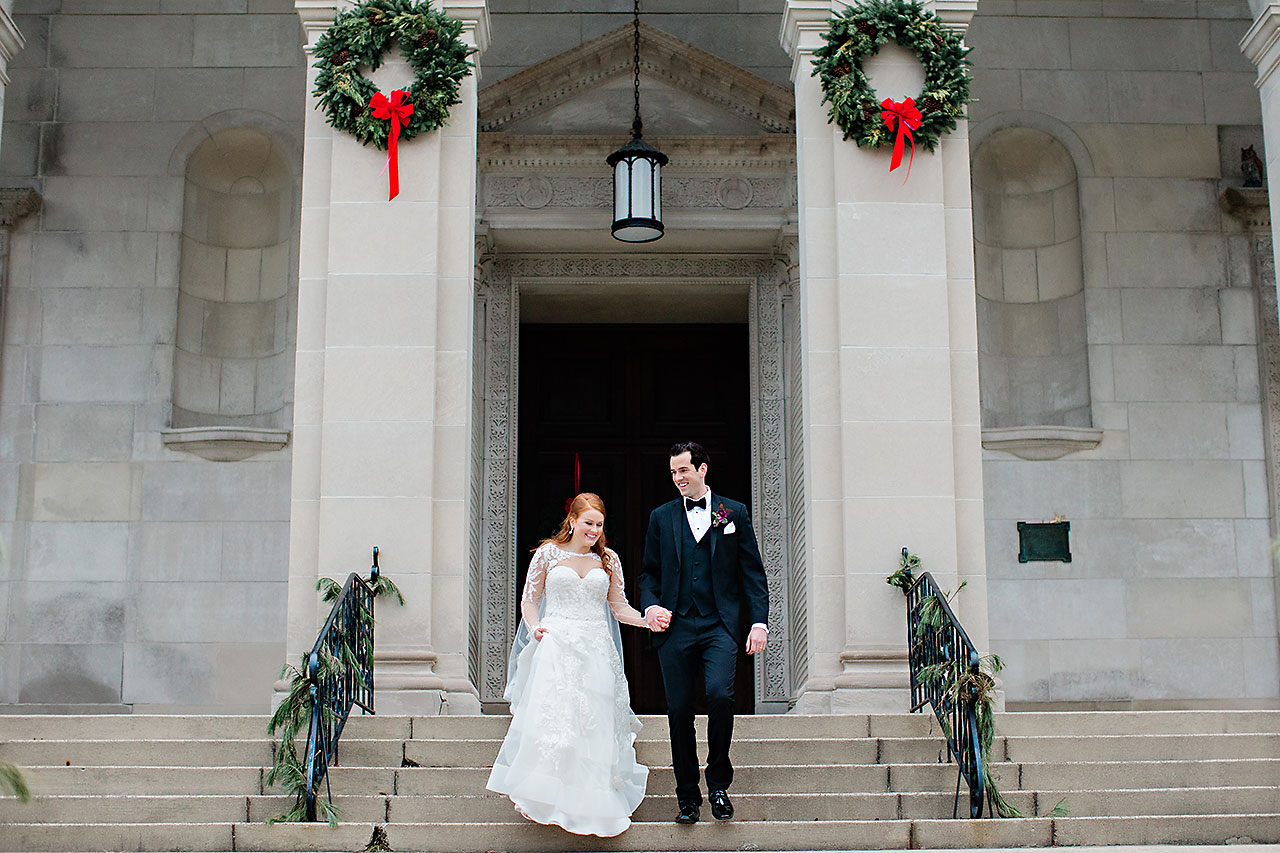 Marianne Steven Indianapolis Central Library Wedding 176