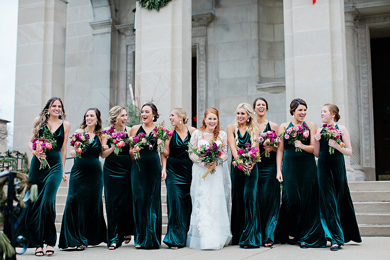 Marianne Steven Indianapolis Central Library Wedding 174
