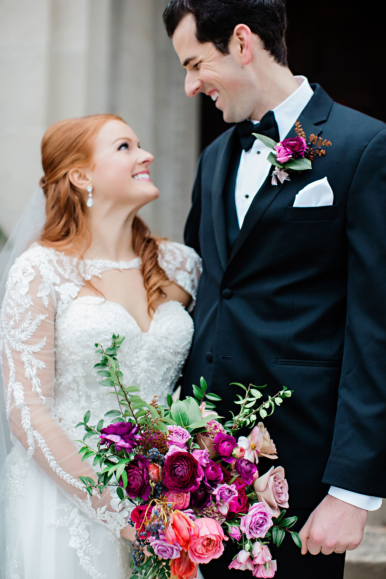 Marianne Steven Indianapolis Central Library Wedding 172
