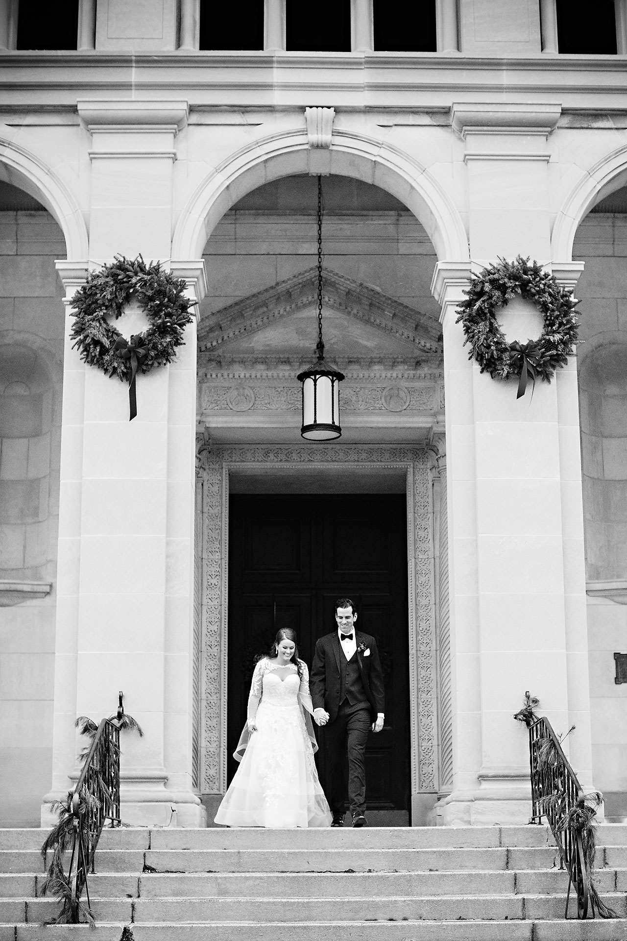 Marianne Steven Indianapolis Central Library Wedding 169
