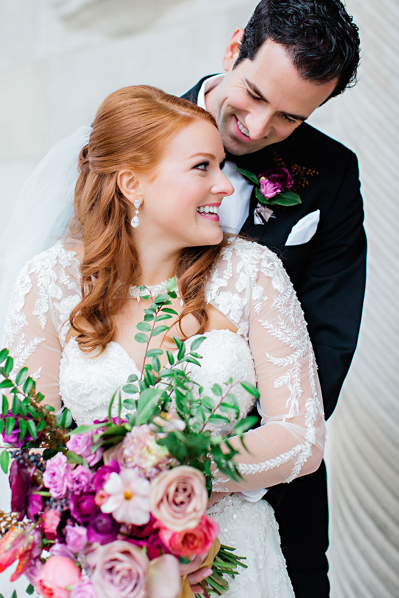Marianne Steven Indianapolis Central Library Wedding 170