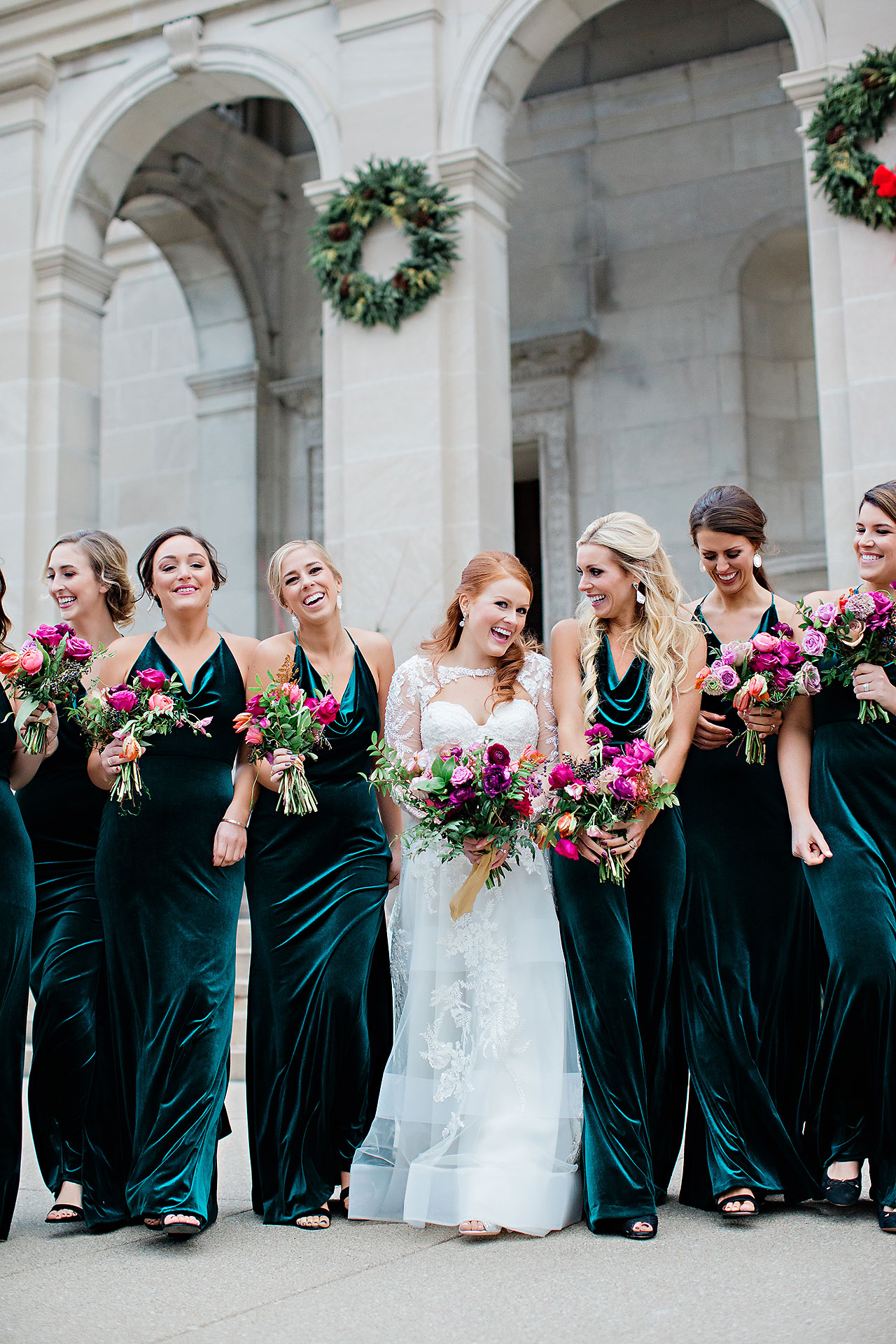 Marianne Steven Indianapolis Central Library Wedding 166