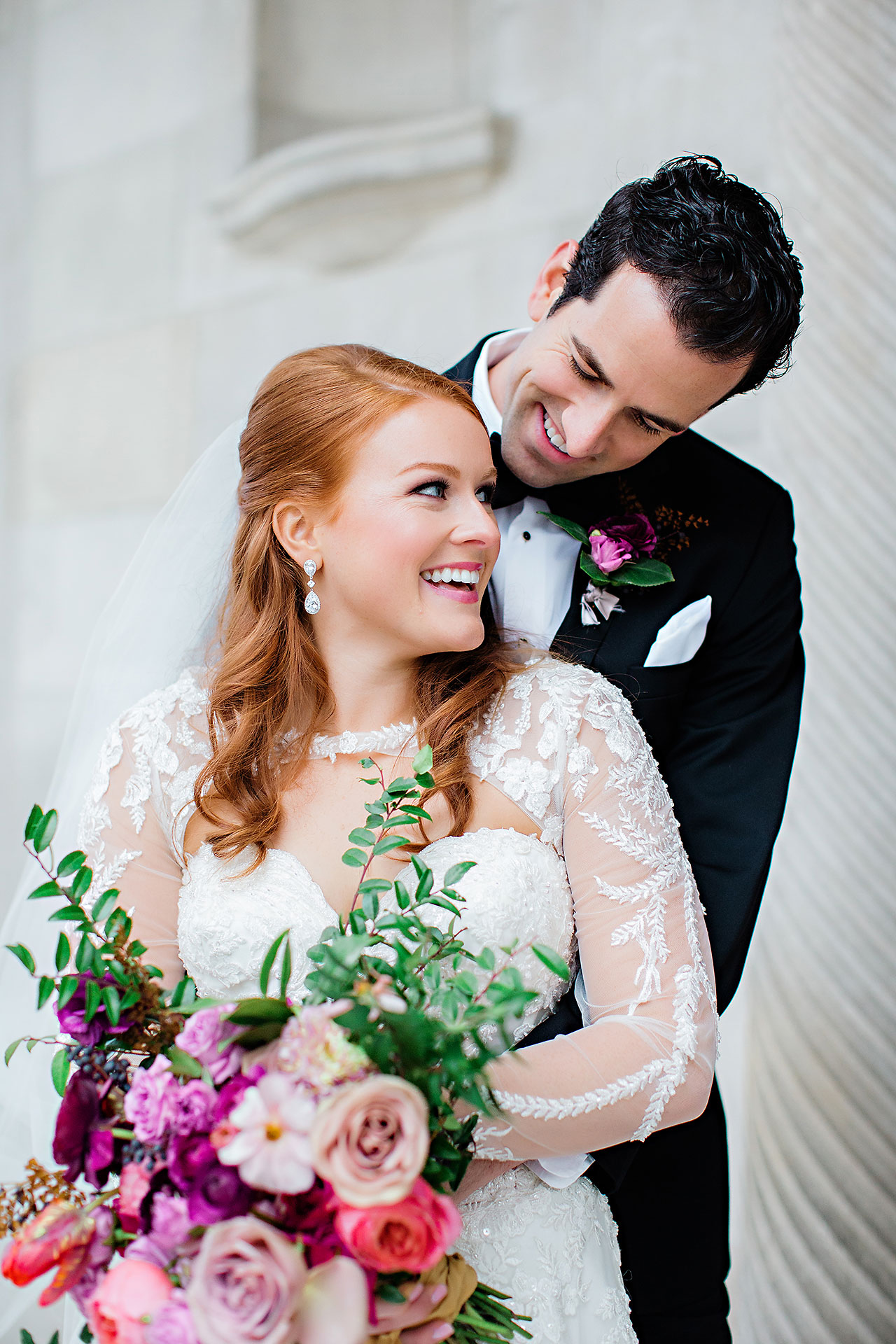 Marianne Steven Indianapolis Central Library Wedding 163