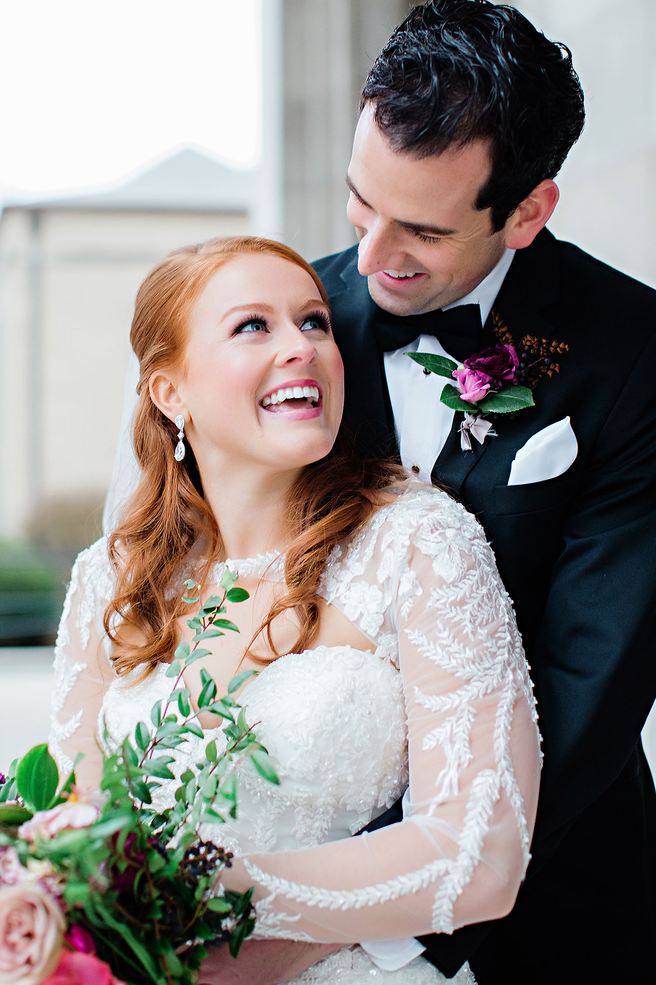 Marianne Steven Indianapolis Central Library Wedding 160