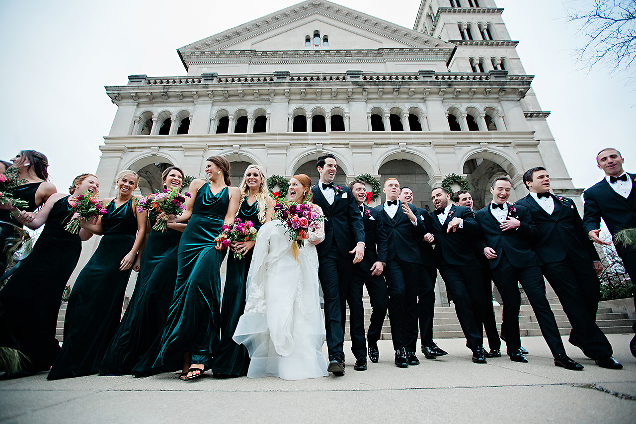 Marianne Steven Indianapolis Central Library Wedding 159