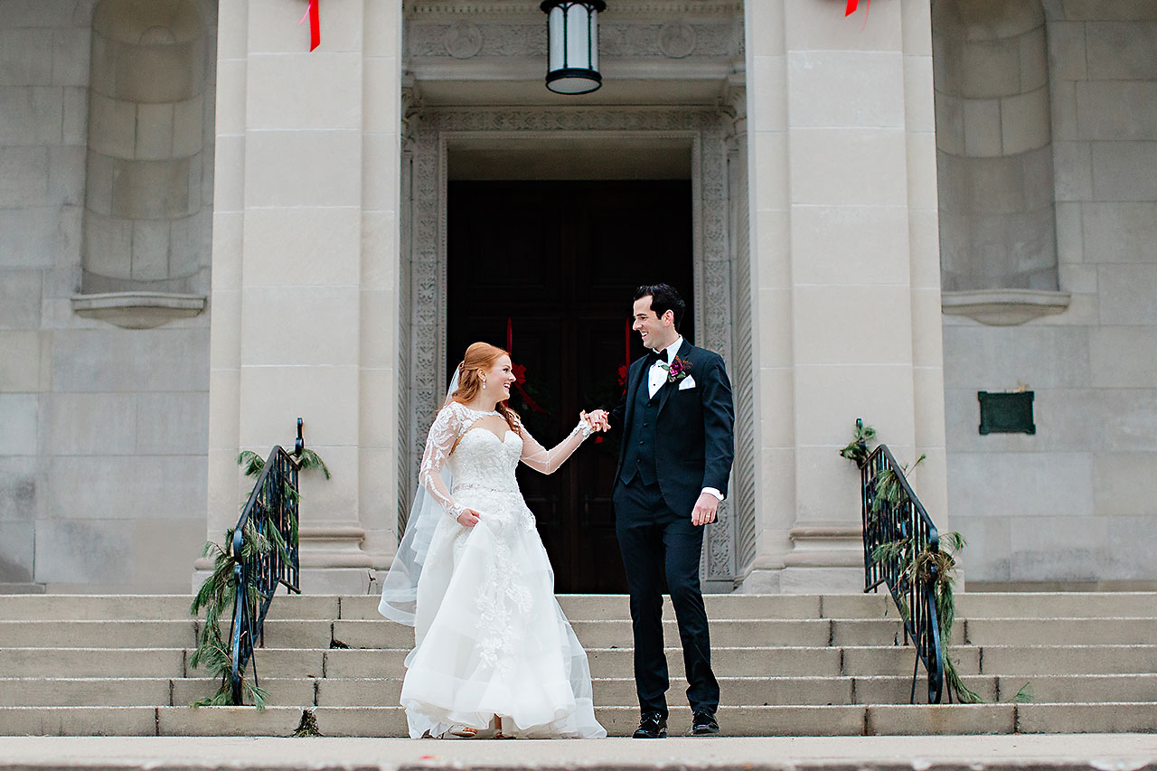 Marianne Steven Indianapolis Central Library Wedding 157