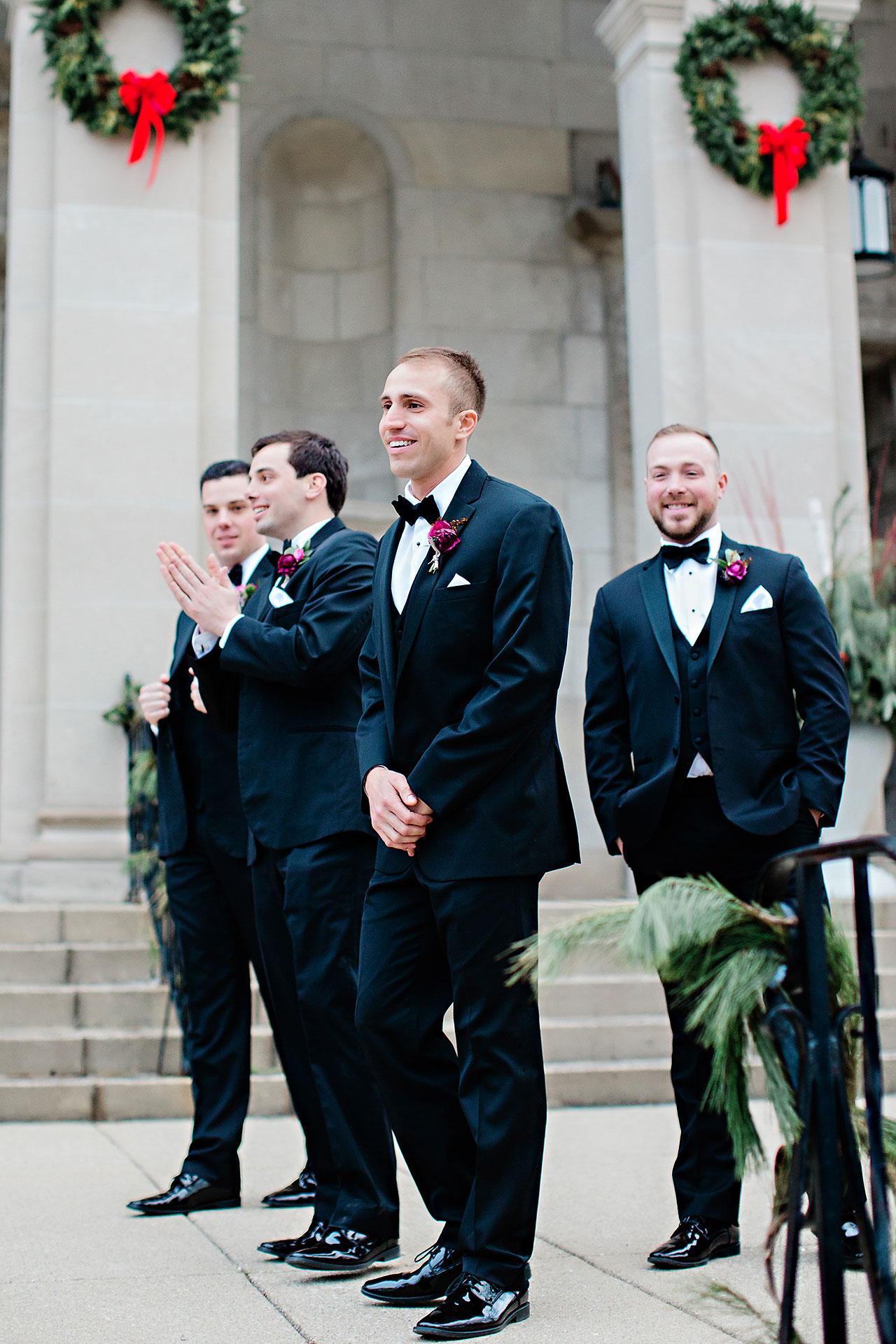 Marianne Steven Indianapolis Central Library Wedding 154