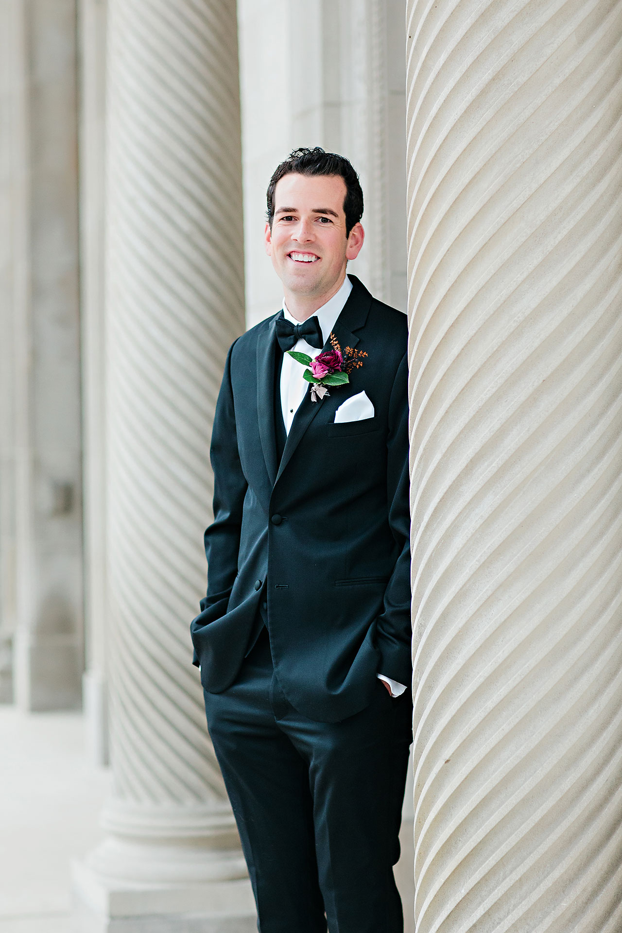 Marianne Steven Indianapolis Central Library Wedding 146