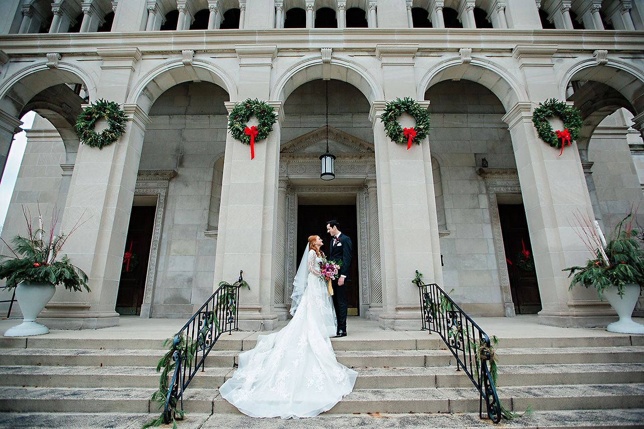 Marianne Steven Indianapolis Central Library Wedding 136