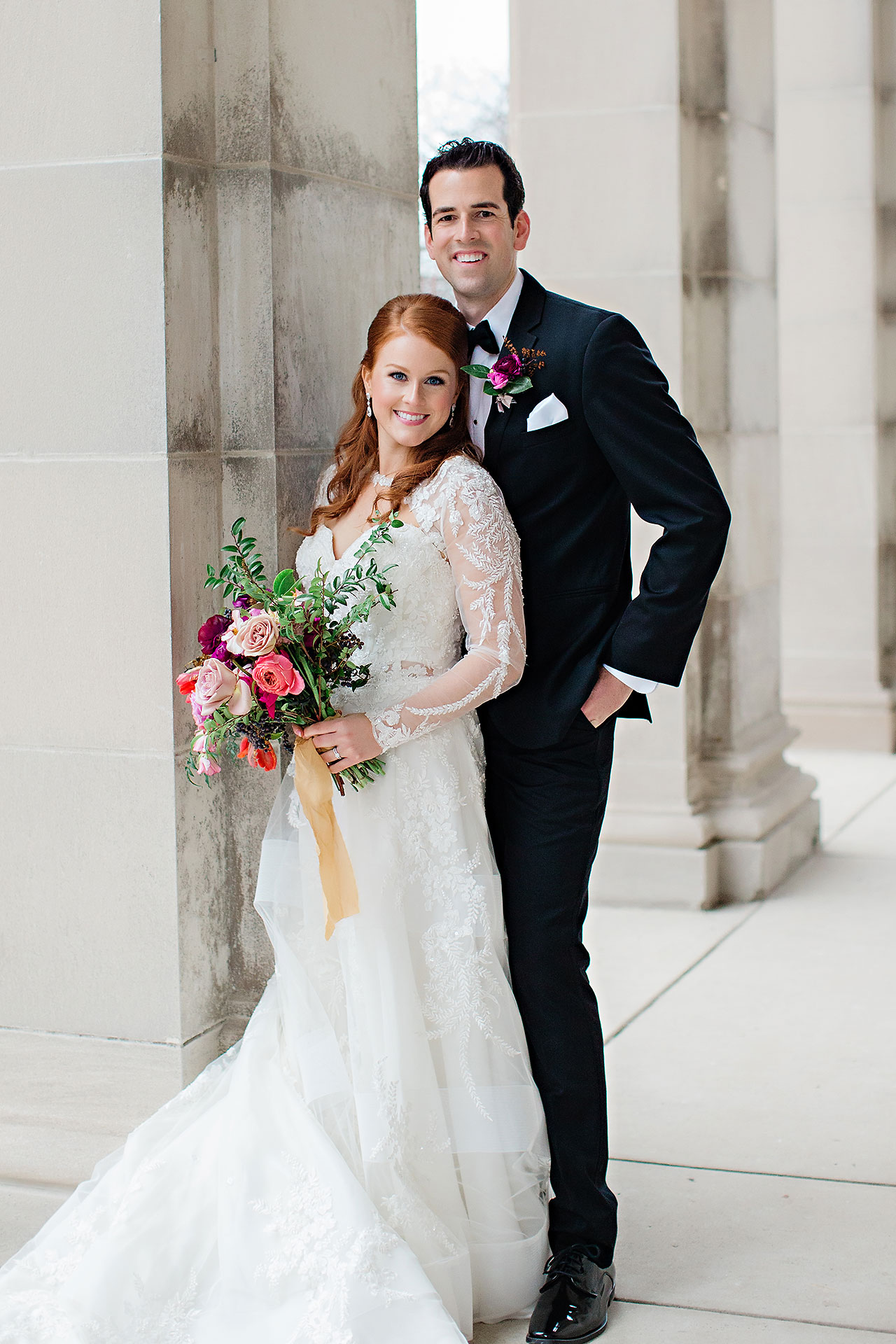 Marianne Steven Indianapolis Central Library Wedding 133
