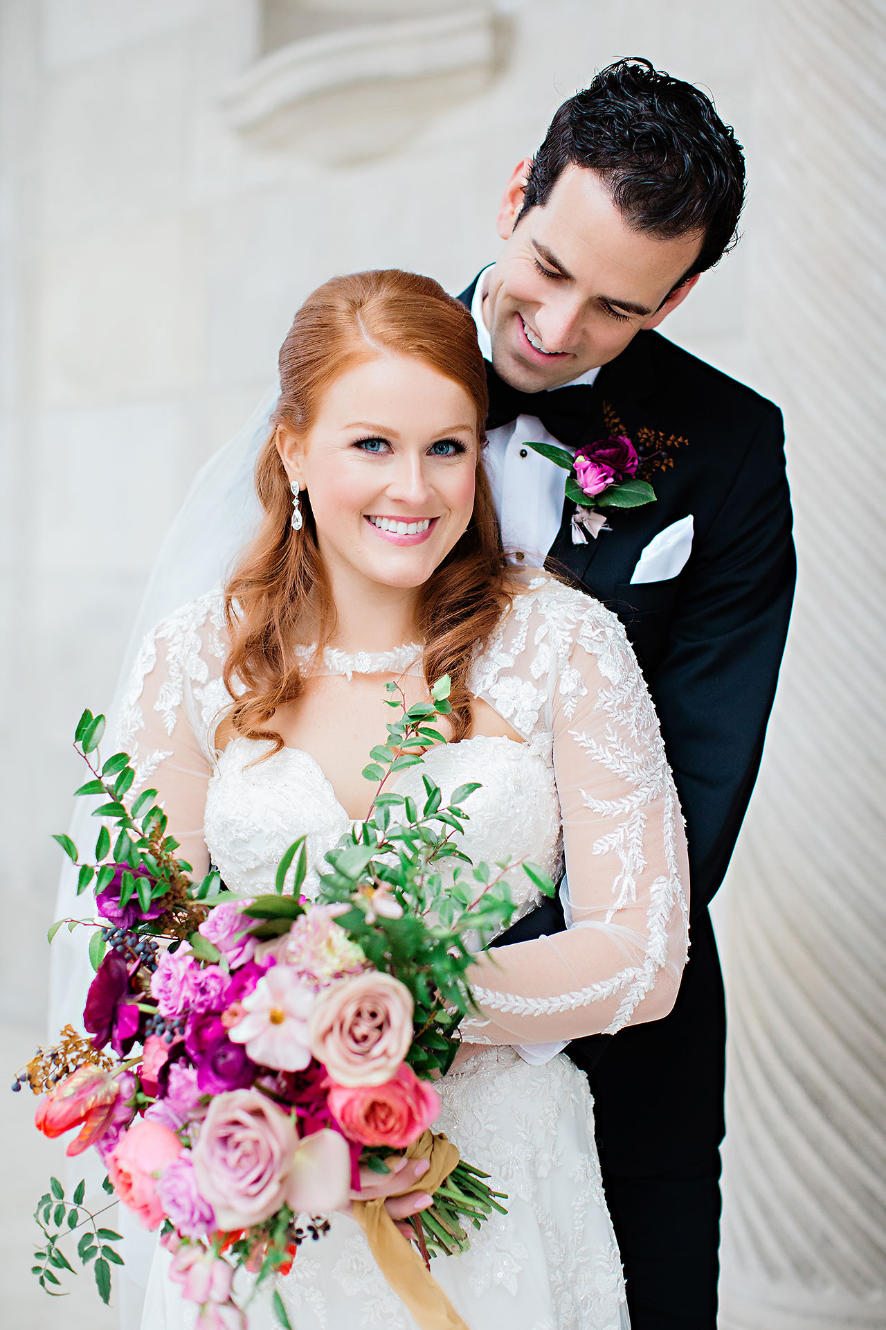 Marianne Steven Indianapolis Central Library Wedding 130