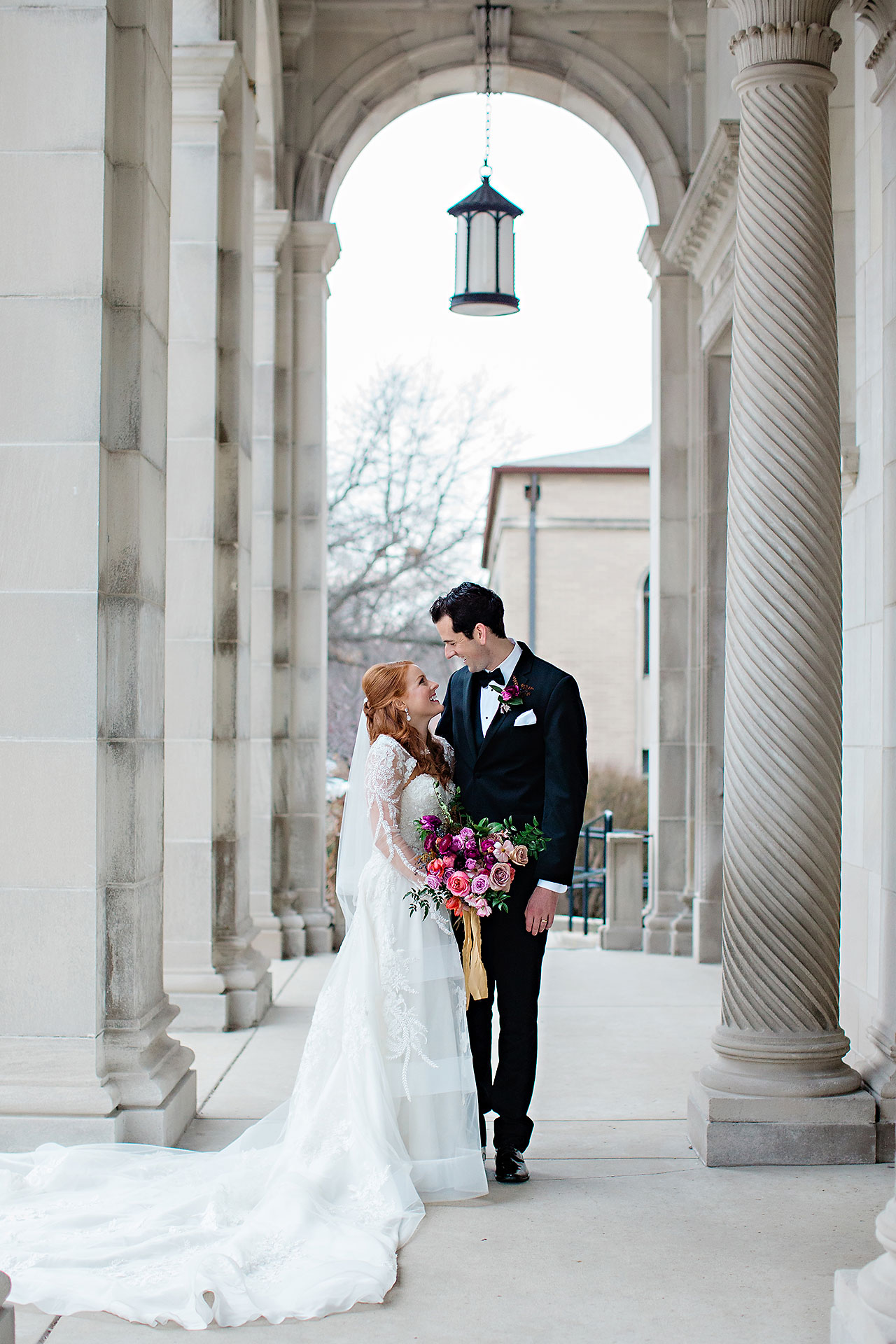 Marianne Steven Indianapolis Central Library Wedding 126