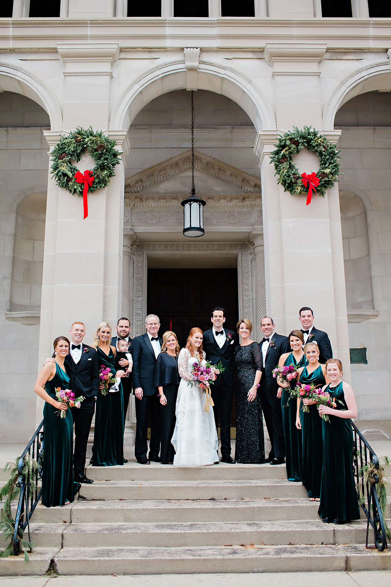 Marianne Steven Indianapolis Central Library Wedding 122