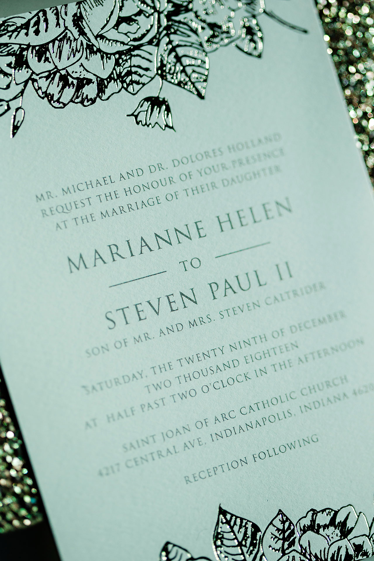 Marianne Steven Indianapolis Central Library Wedding 007