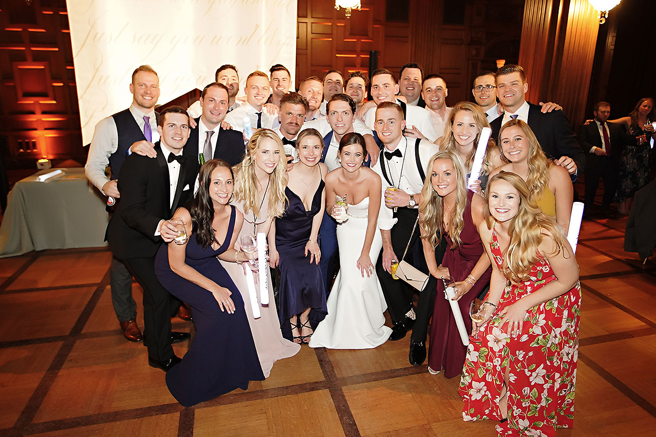 Erin Grant Indianapolis Central Library Scottish Rite Wedding 368