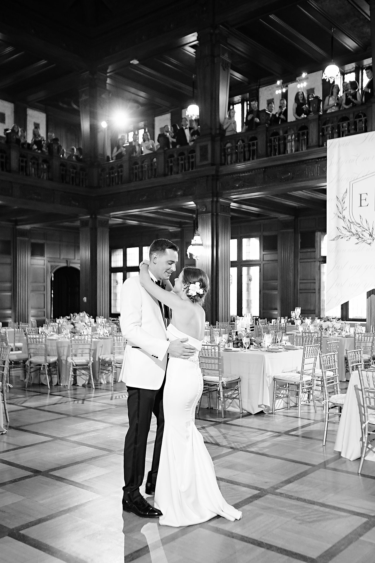 Erin Grant Indianapolis Central Library Scottish Rite Wedding 286