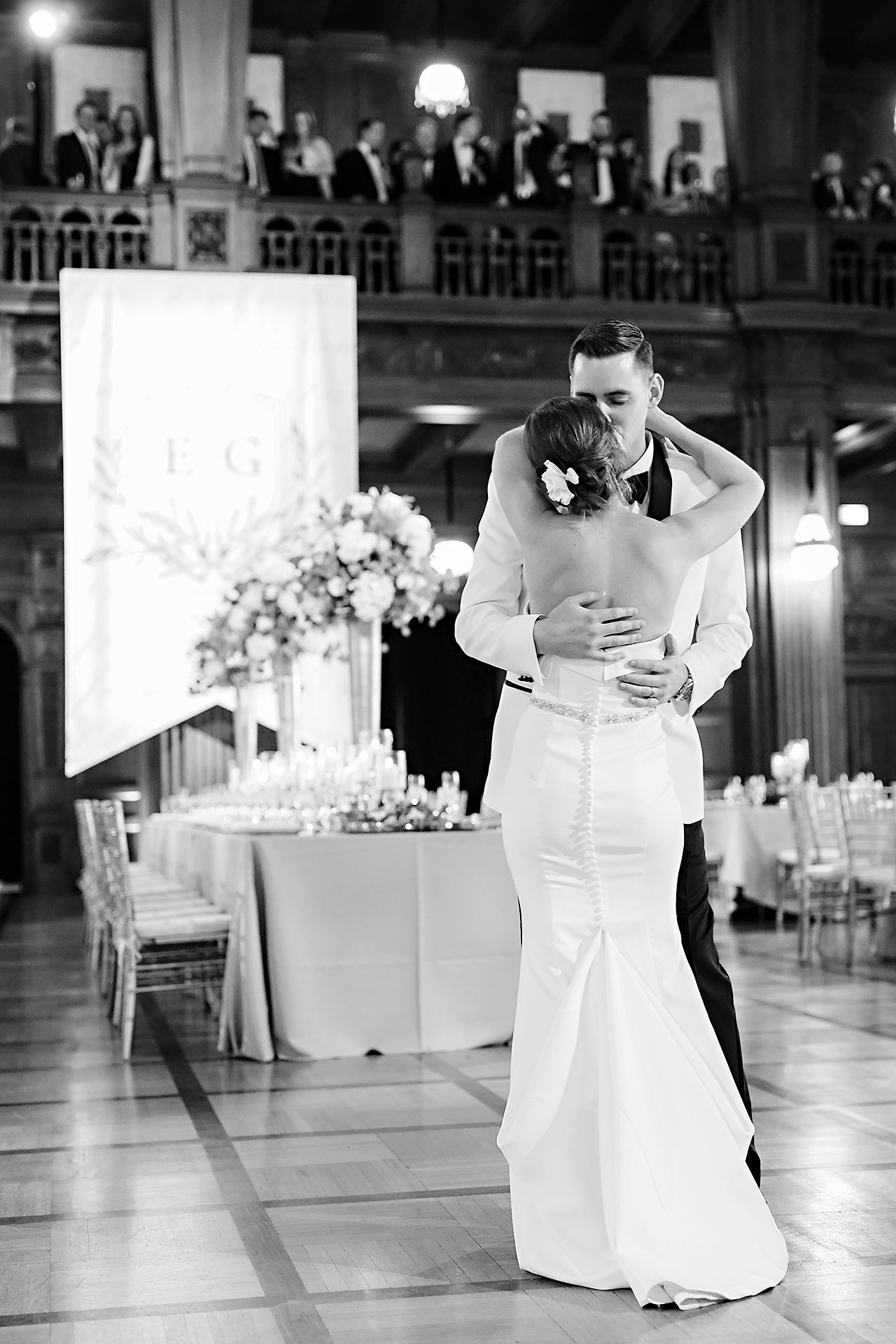 Erin Grant Indianapolis Central Library Scottish Rite Wedding 280