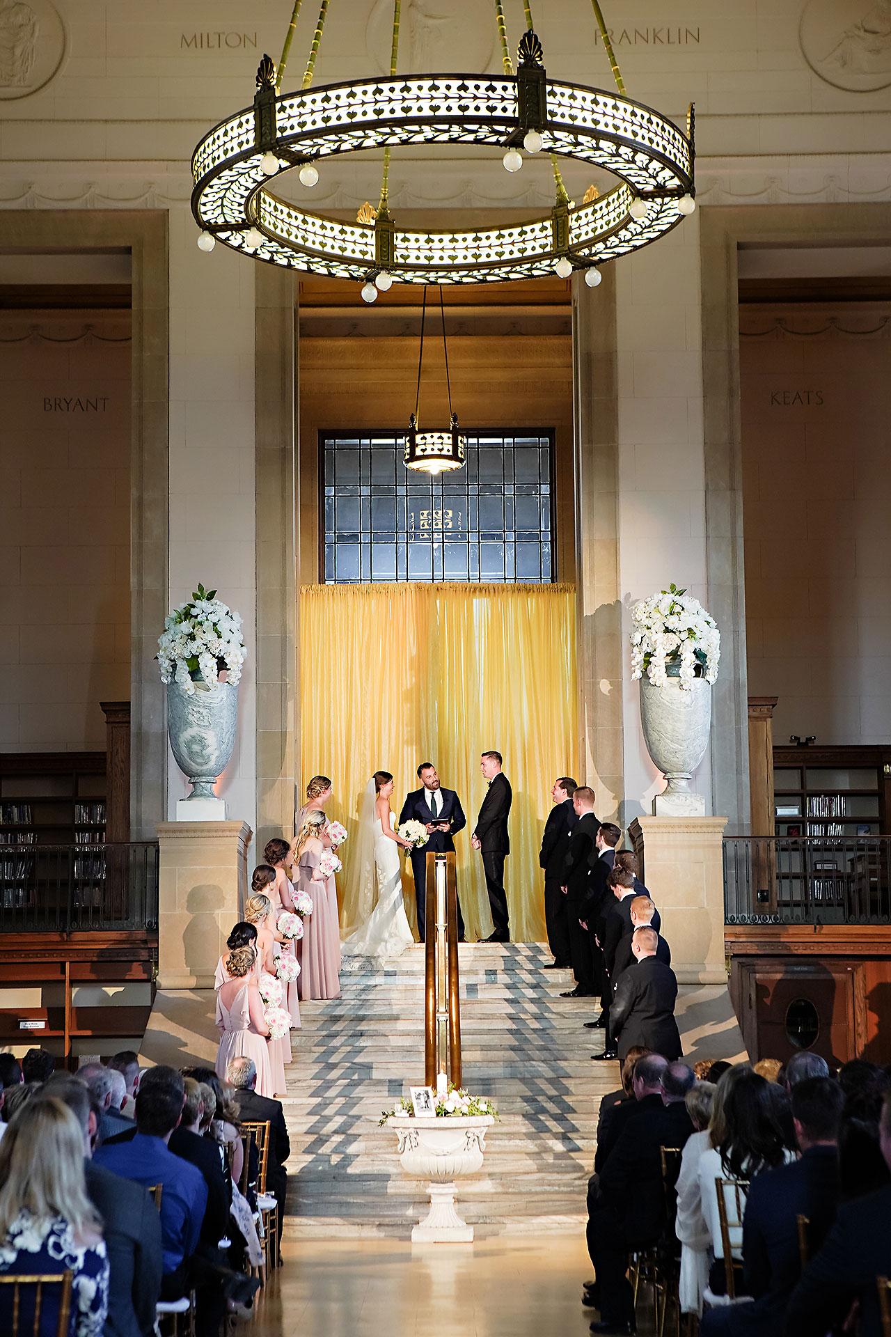Erin Grant Indianapolis Central Library Scottish Rite Wedding 218