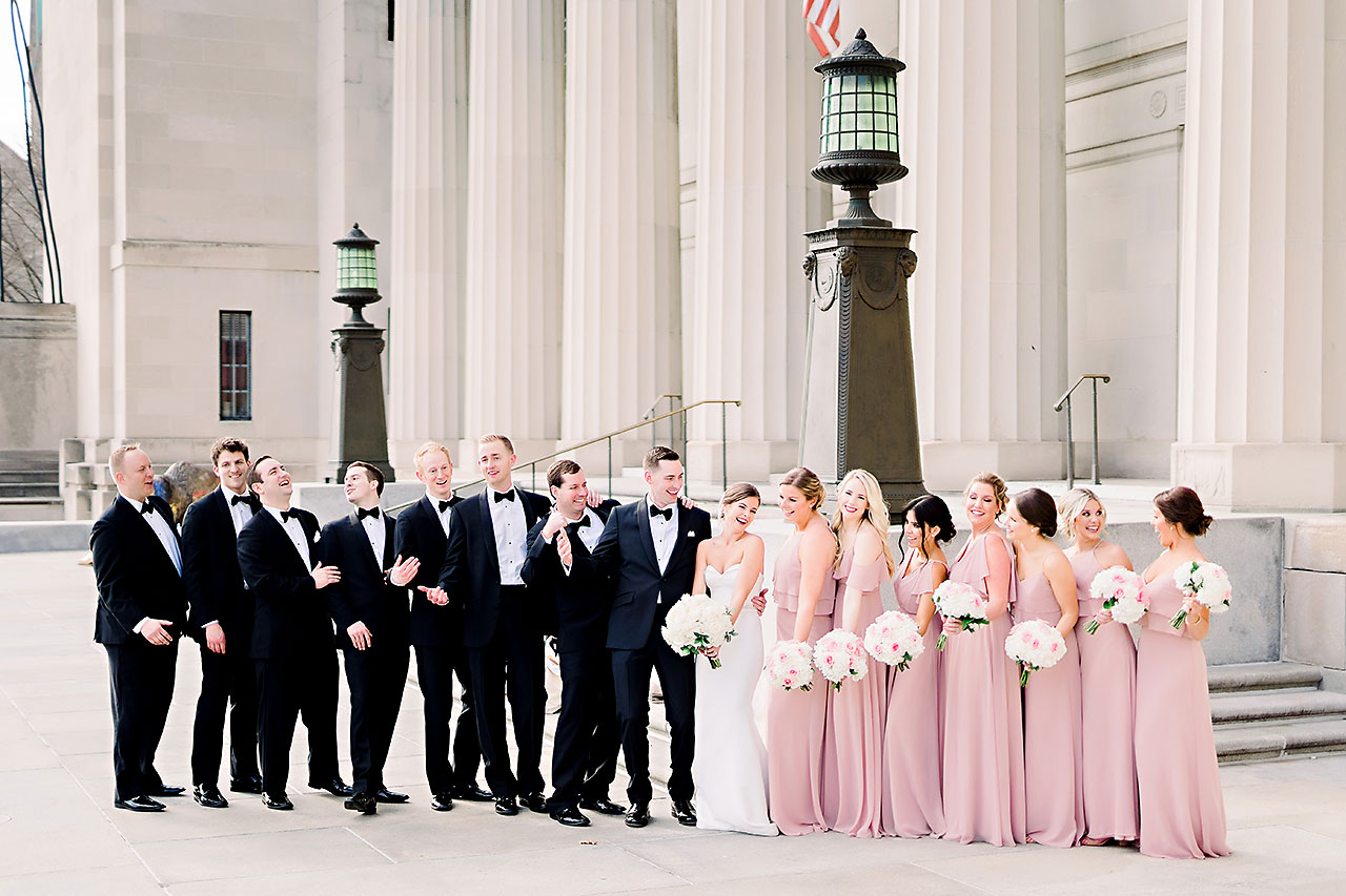 Erin Grant Indianapolis Central Library Scottish Rite Wedding 167