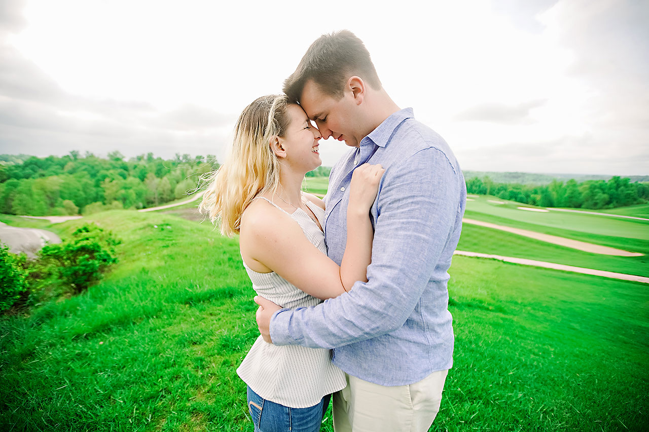 Kendra Pete West Baden Springs Engagement Session 186