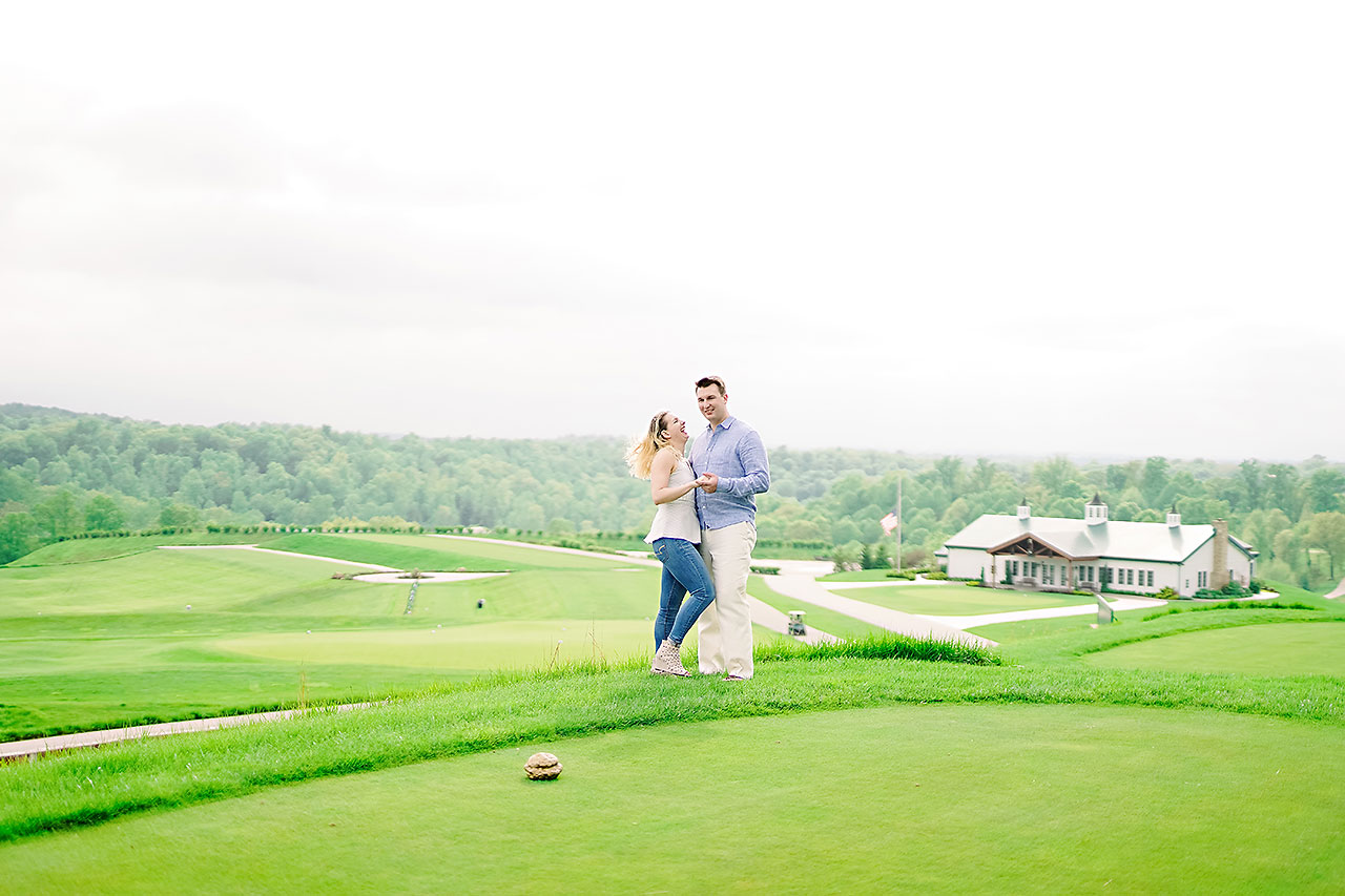 Kendra Pete West Baden Springs Engagement Session 183