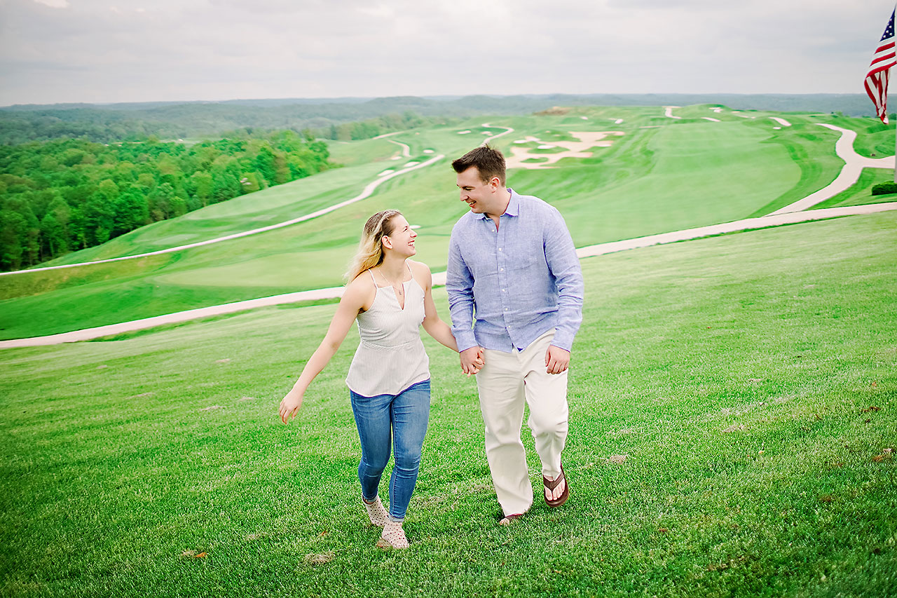 Kendra Pete West Baden Springs Engagement Session 180