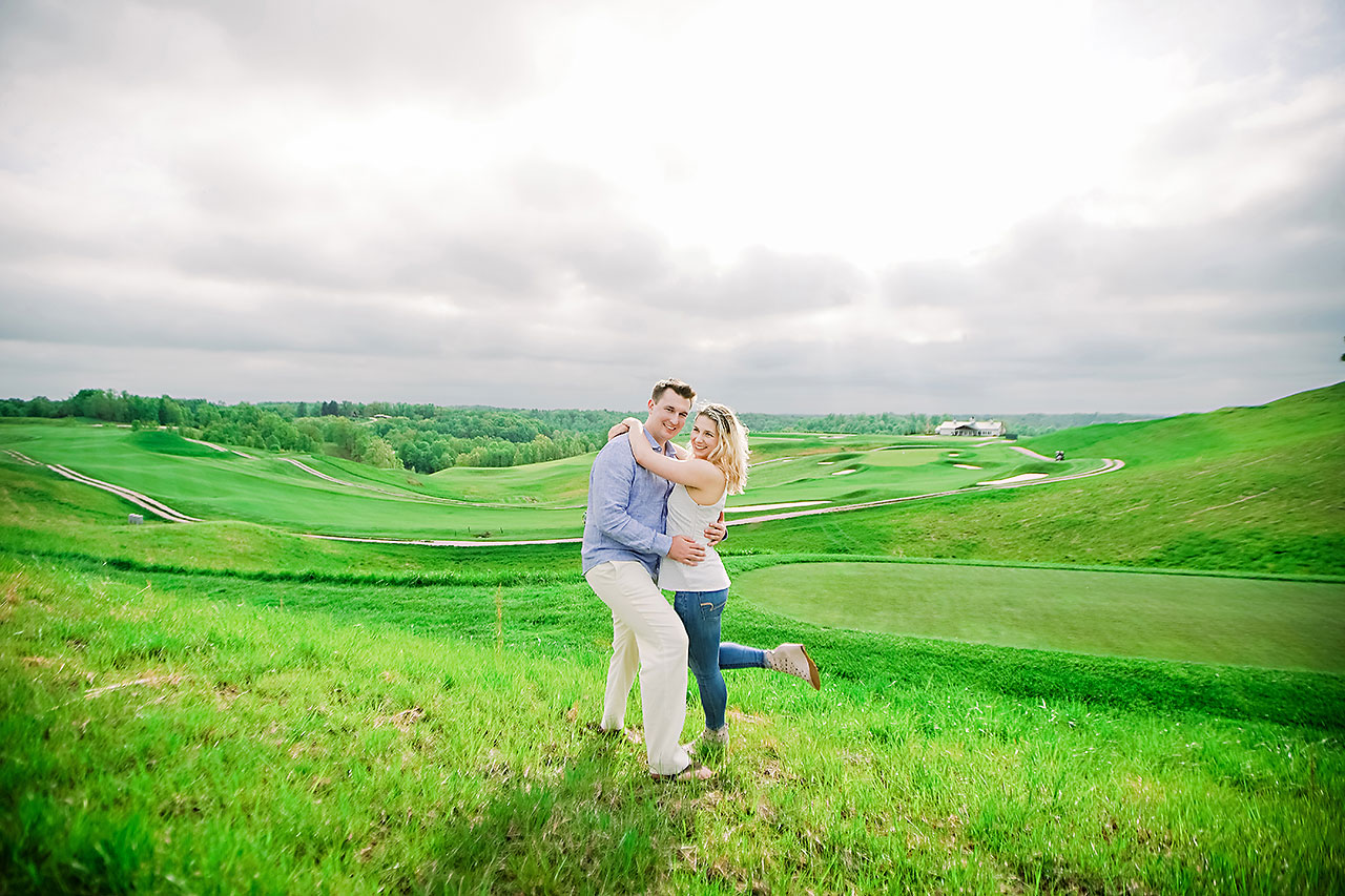 Kendra Pete West Baden Springs Engagement Session 179