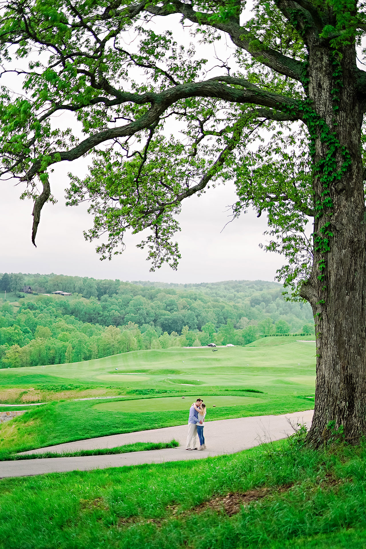 Kendra Pete West Baden Springs Engagement Session 175
