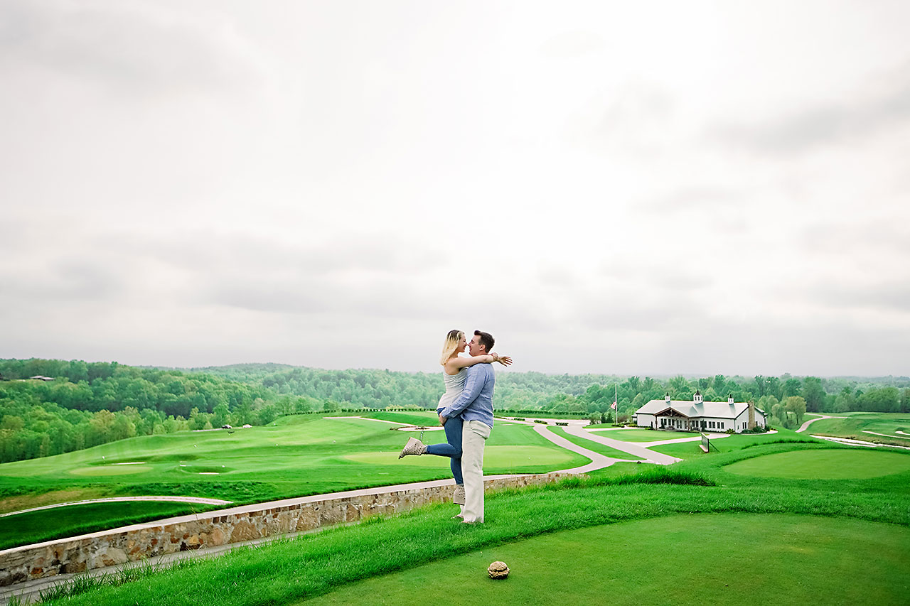 Kendra Pete West Baden Springs Engagement Session 172