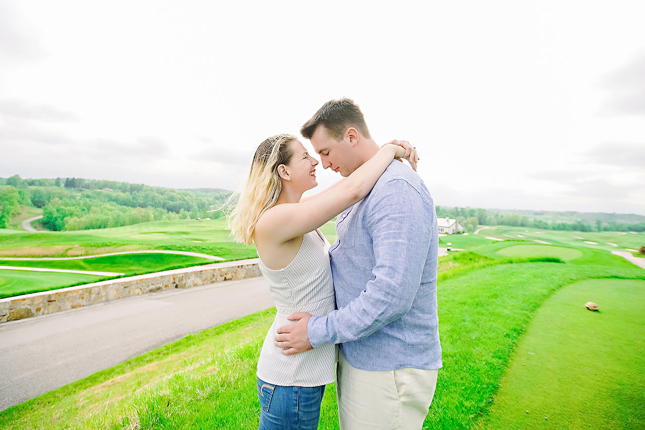 Kendra Pete West Baden Springs Engagement Session 168