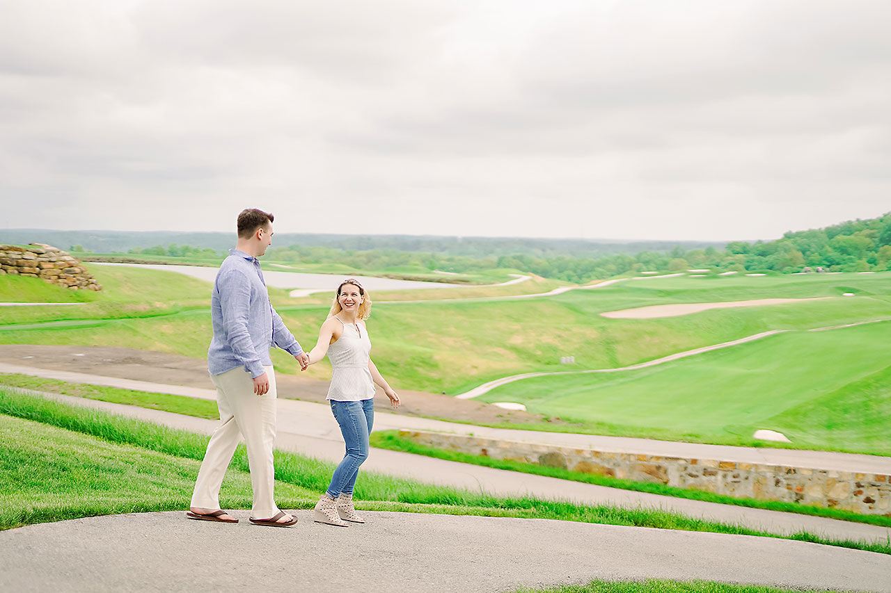 Kendra Pete West Baden Springs Engagement Session 169