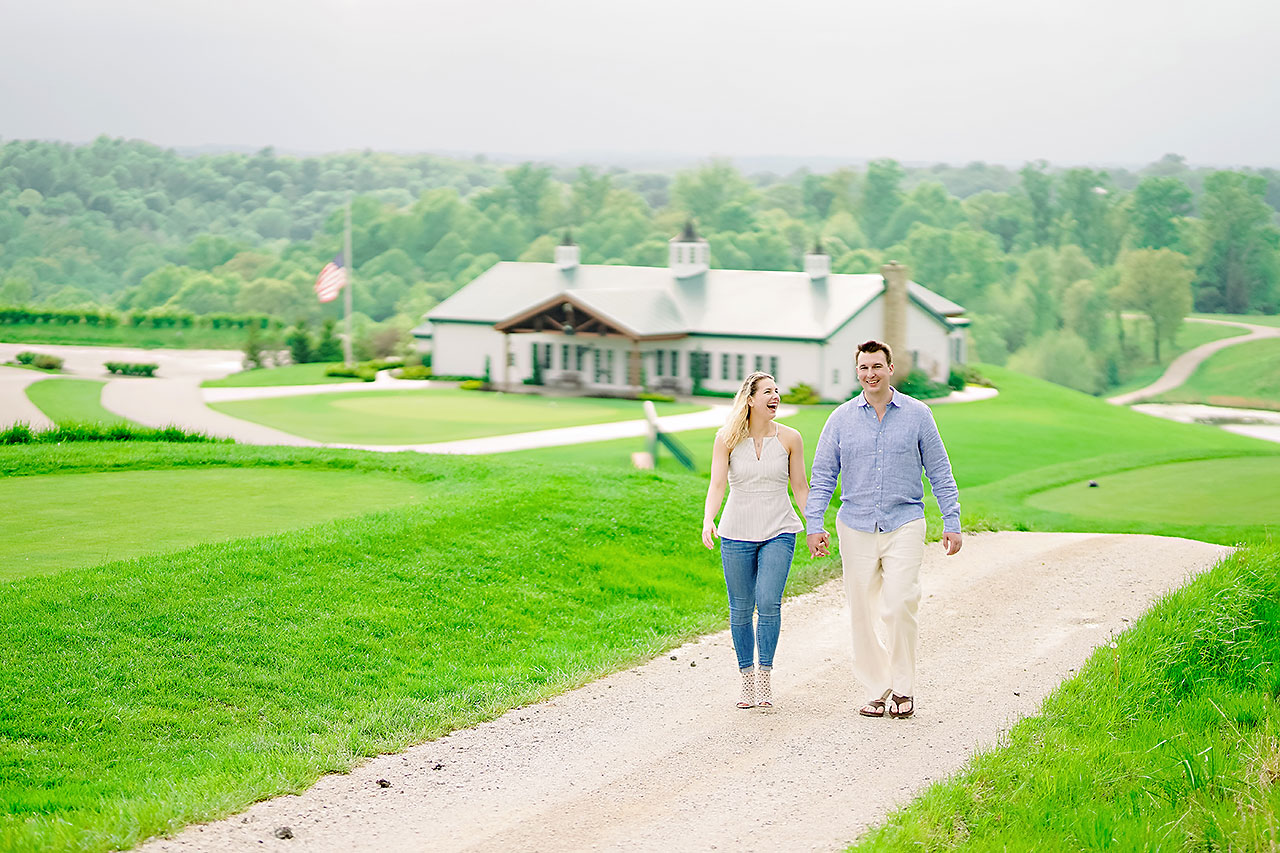 Kendra Pete West Baden Springs Engagement Session 166