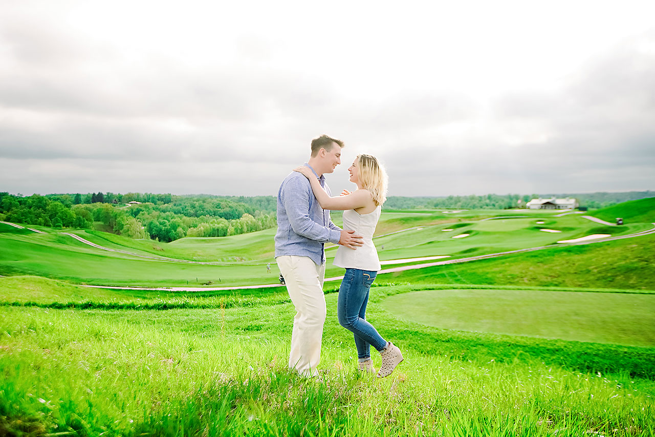 Kendra Pete West Baden Springs Engagement Session 167
