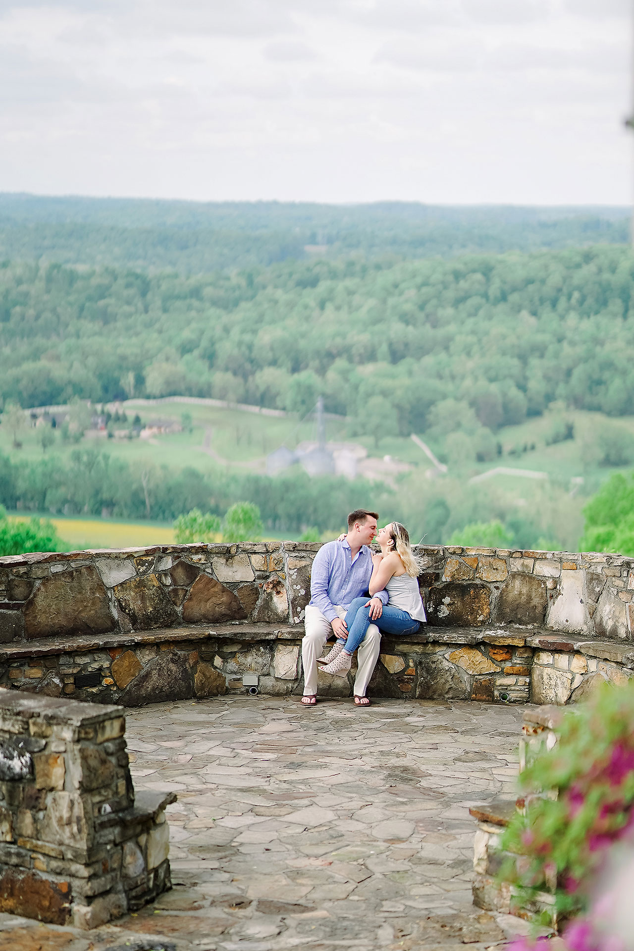 Kendra Pete West Baden Springs Engagement Session 161