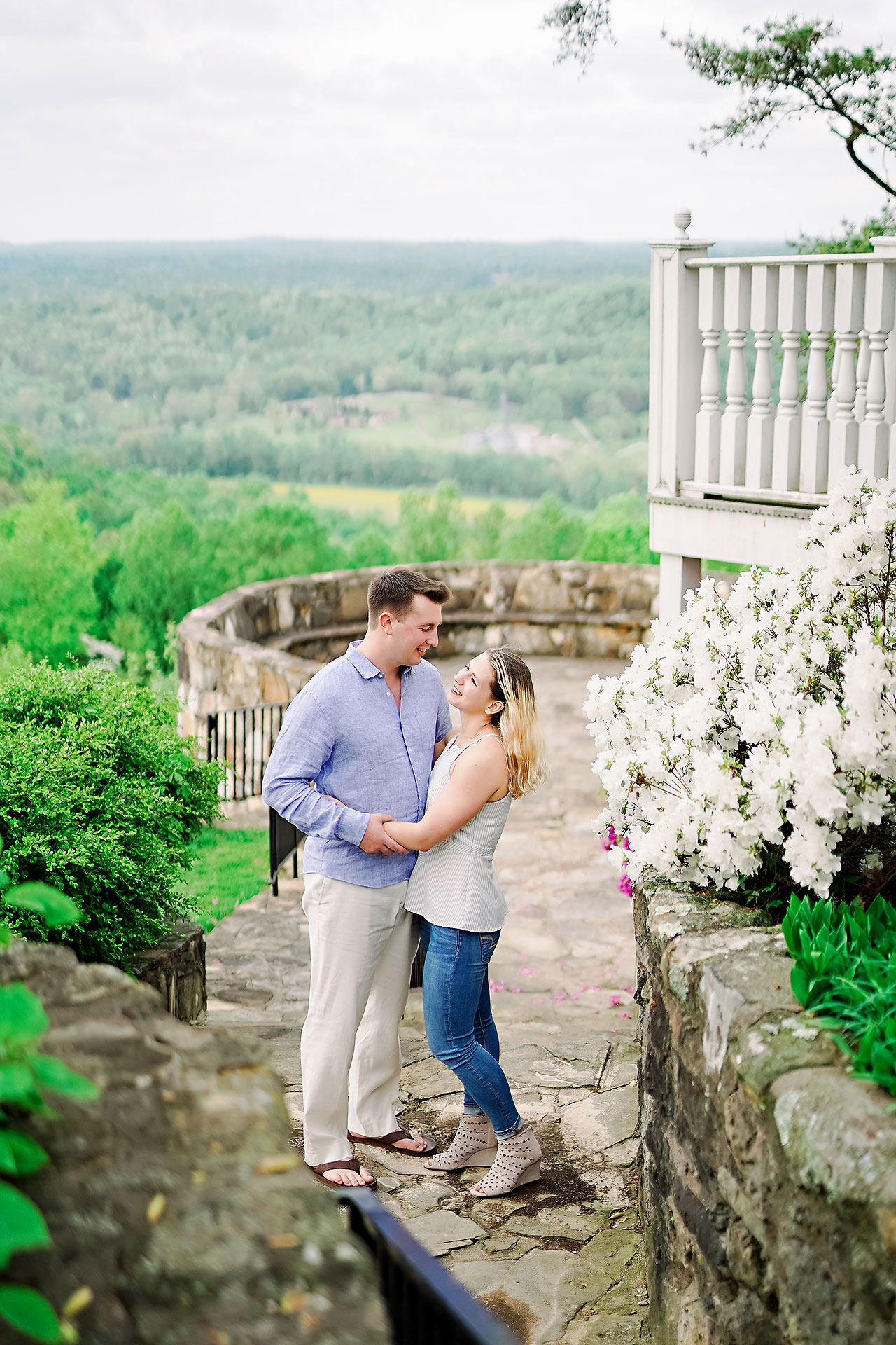 Kendra Pete West Baden Springs Engagement Session 160