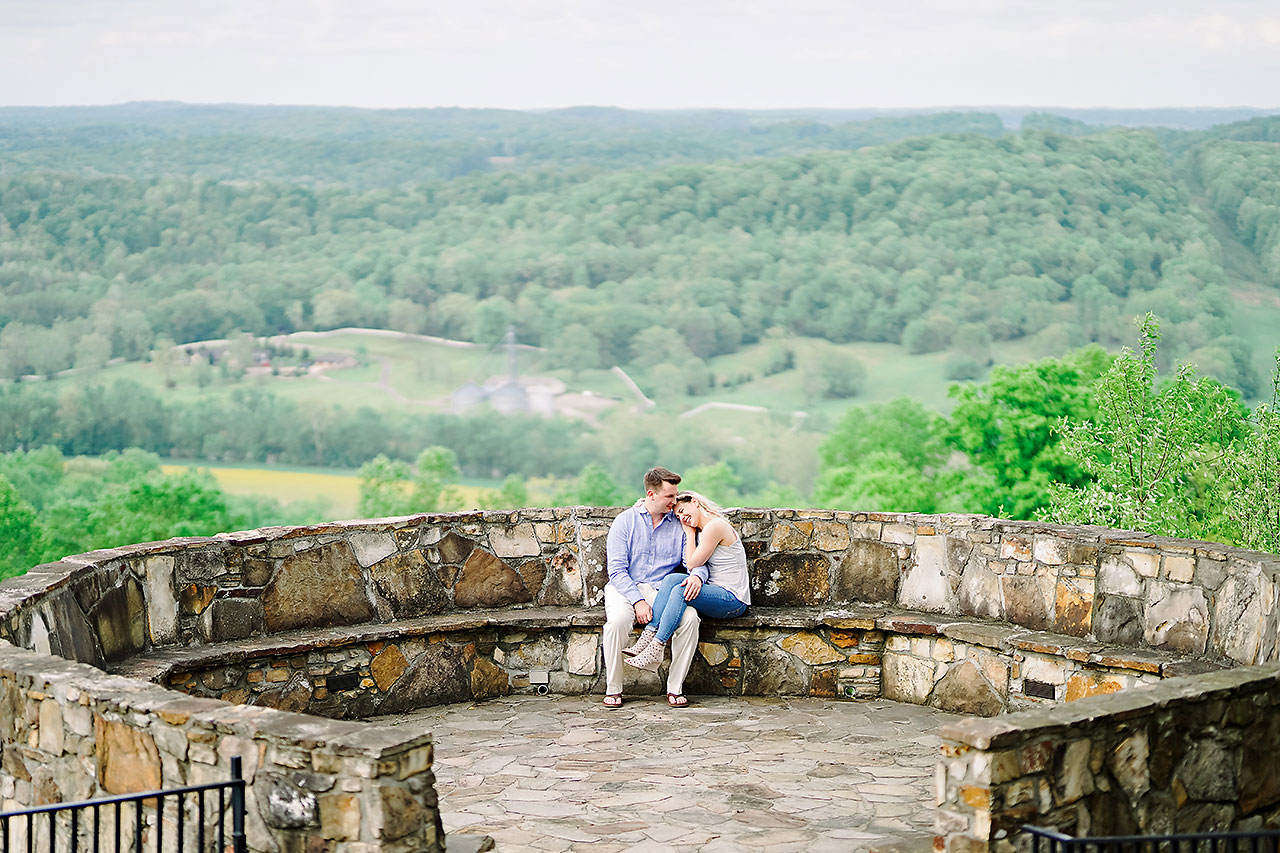 Kendra Pete West Baden Springs Engagement Session 157